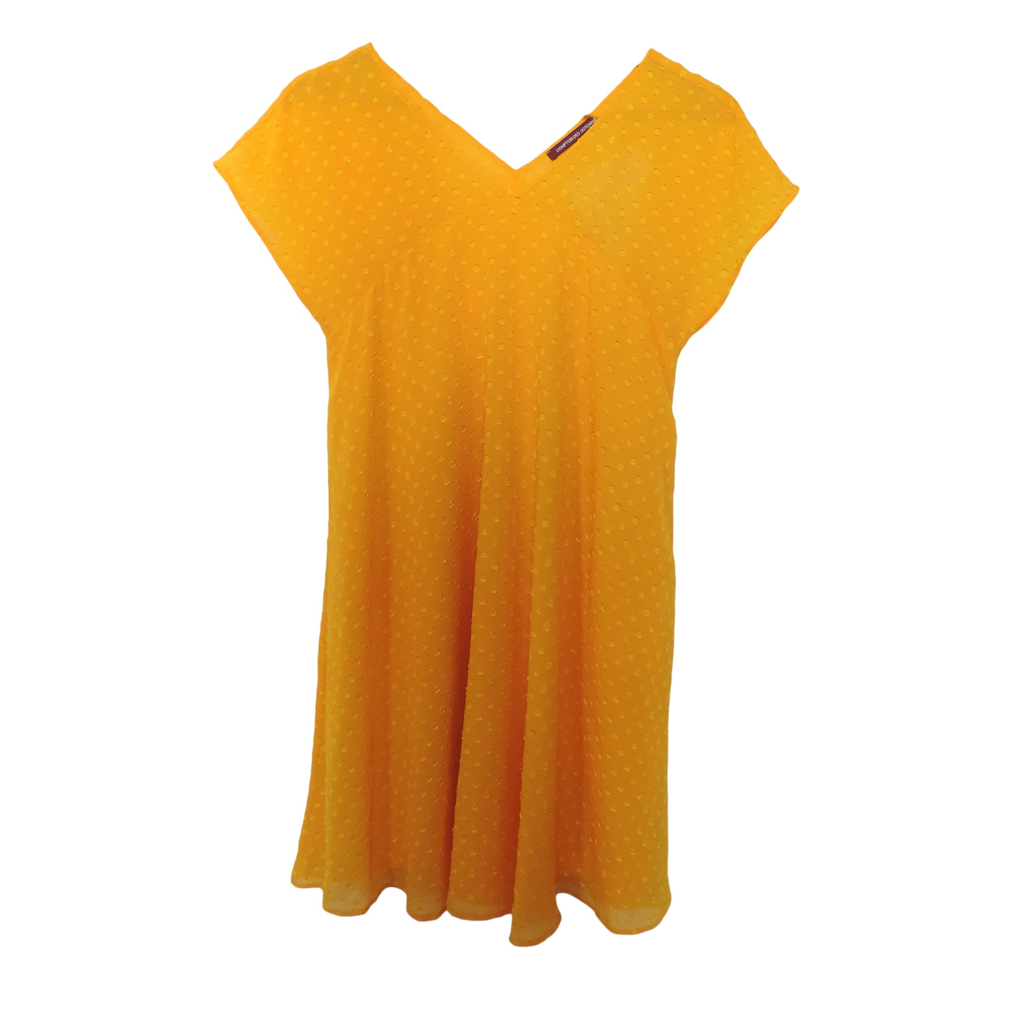 Robe courte comptoir des cotonniers 36 s t1 jaune vendu - Comptoir des cotonniers ch ...