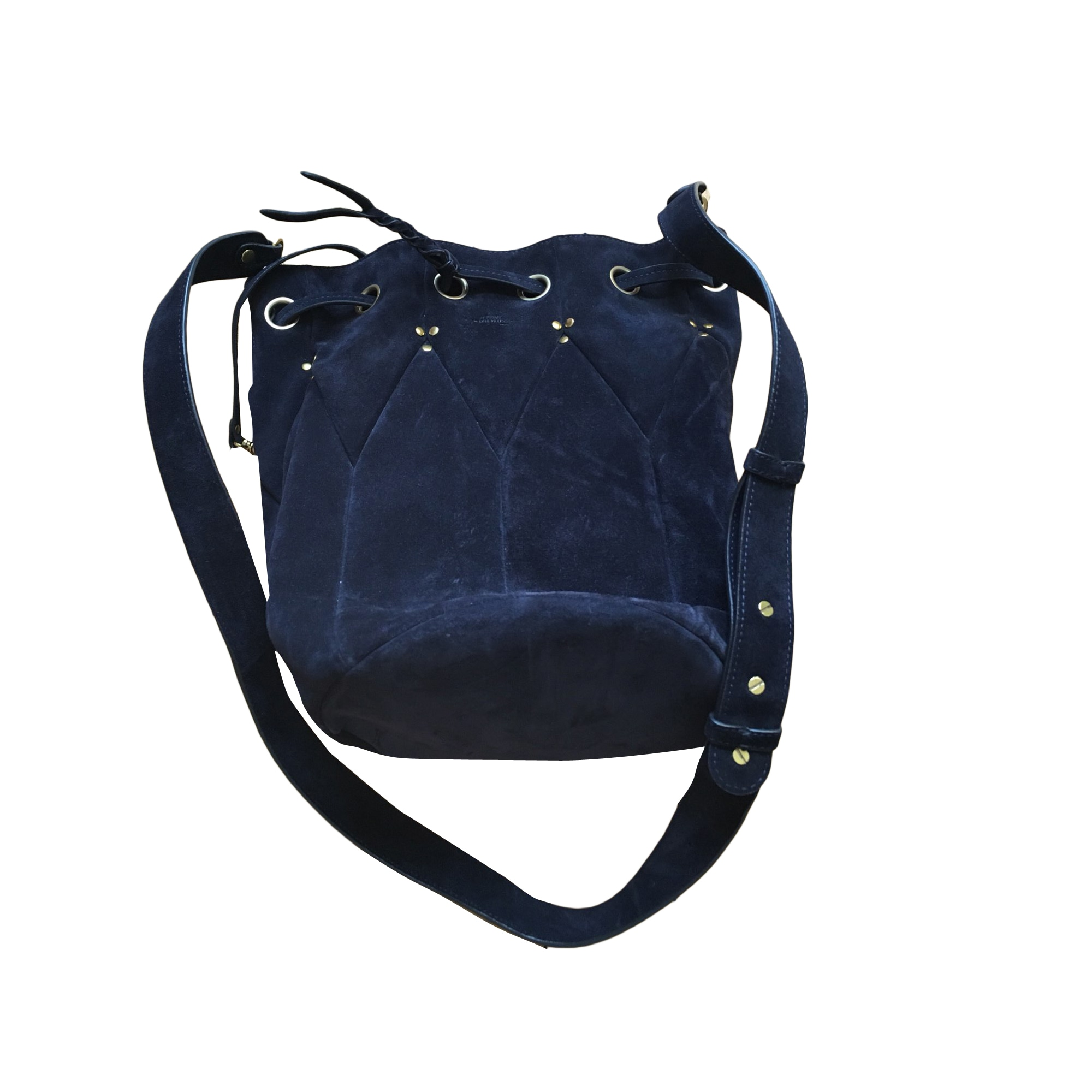 Leather Shoulder Bag JEROME DREYFUSS Blue, navy, turquoise