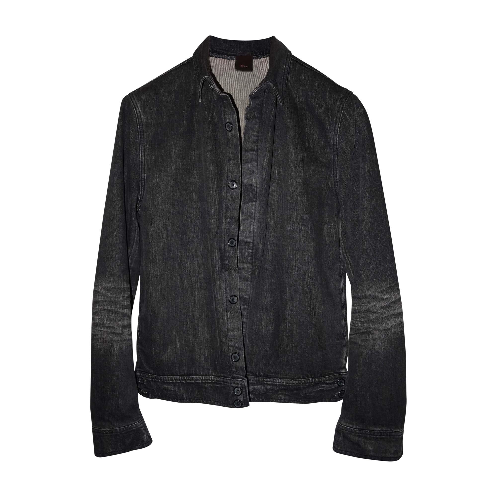 80c49c55abd Veste en jean DIOR HOMME 54 (L) noir - 7001166