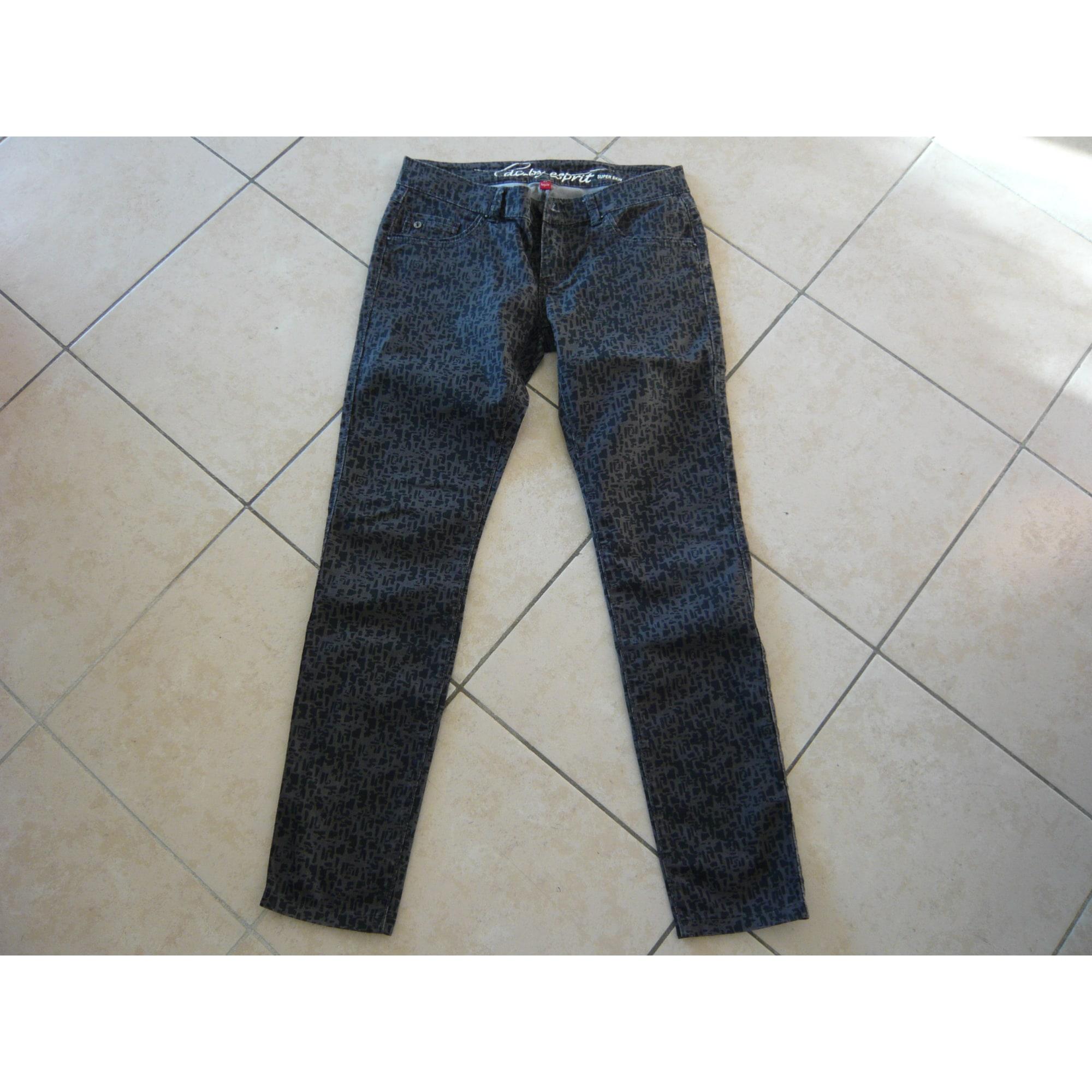Edc W27 Jeans By Gris 7005324 Droit Esprit t 36 4qBBRw57