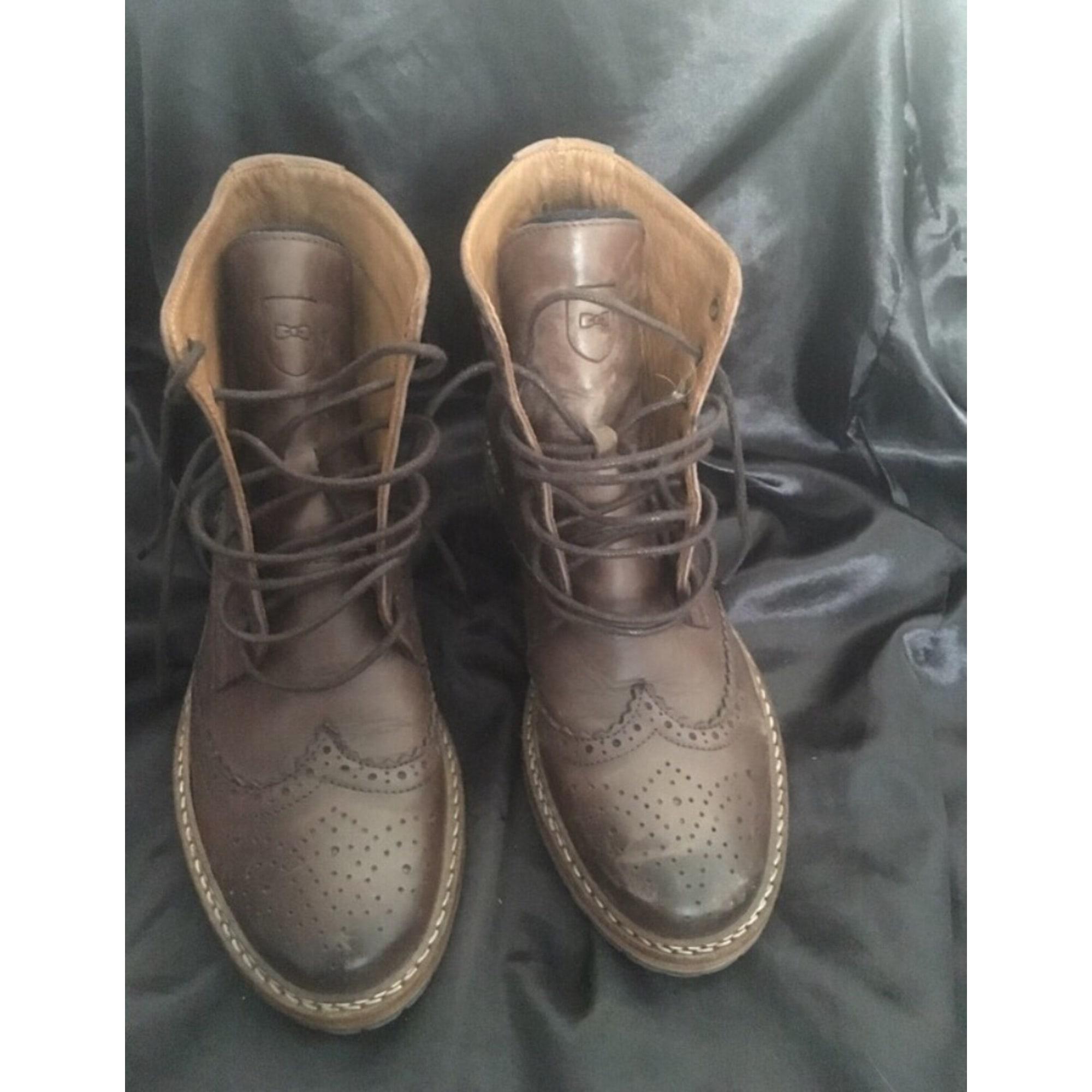 Park 7005962 amp; Boots Eden 36 Marron Plates Low Bottines X4qfx8SRf
