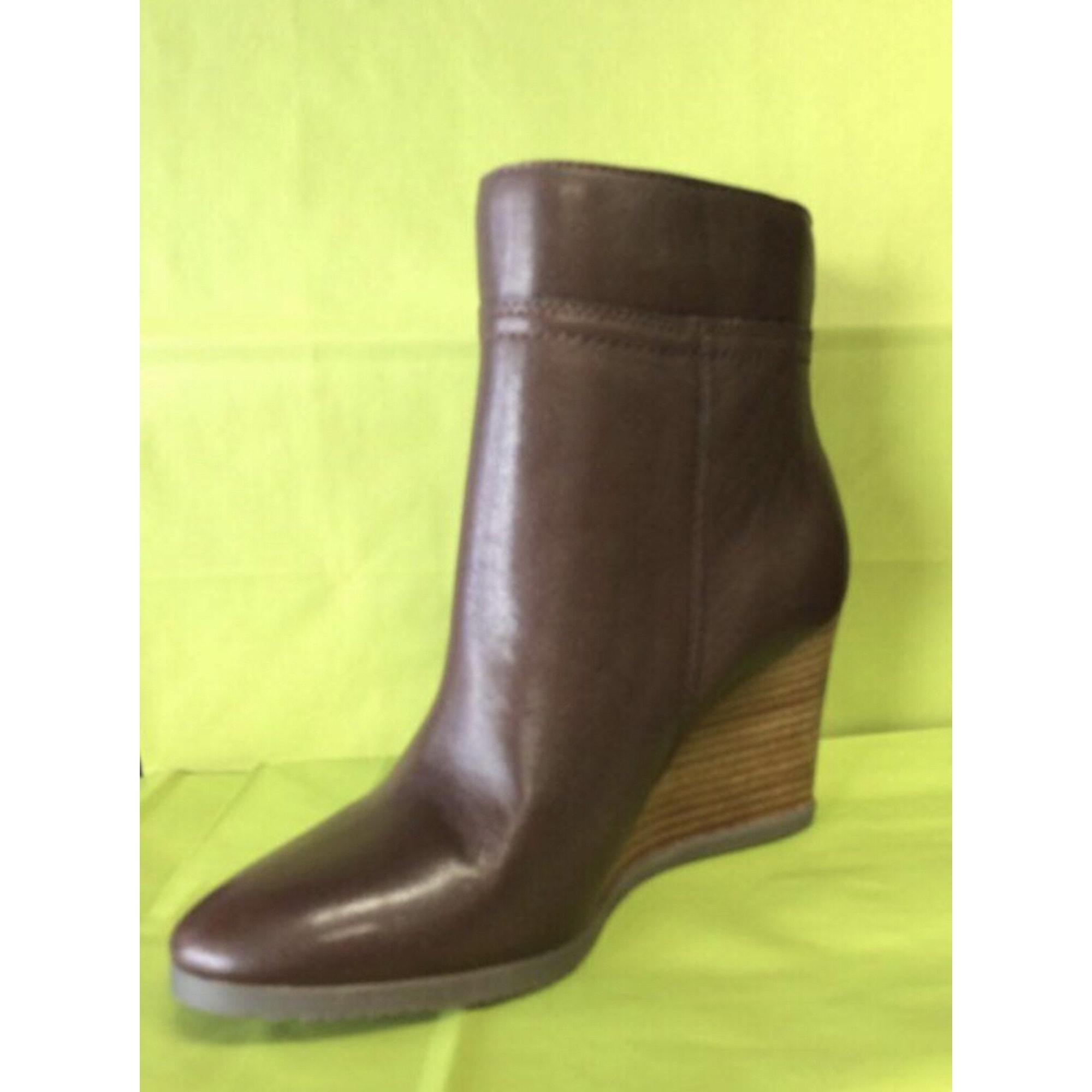Bottines   low boots à compensés TOMMY HILFIGER 39 marron - 7009890 4cedf88e021d
