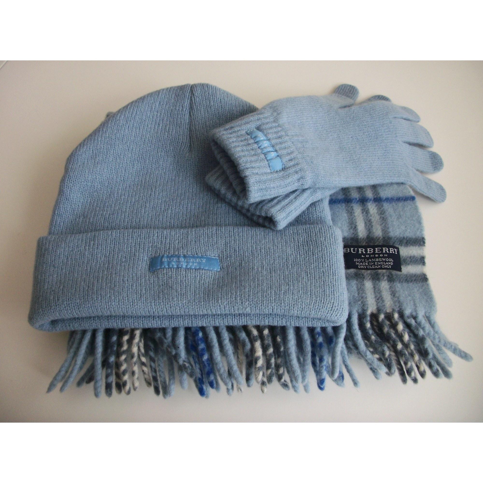 Echarpe BURBERRY bleu vendu par Paillette - 7021177 687d39da412