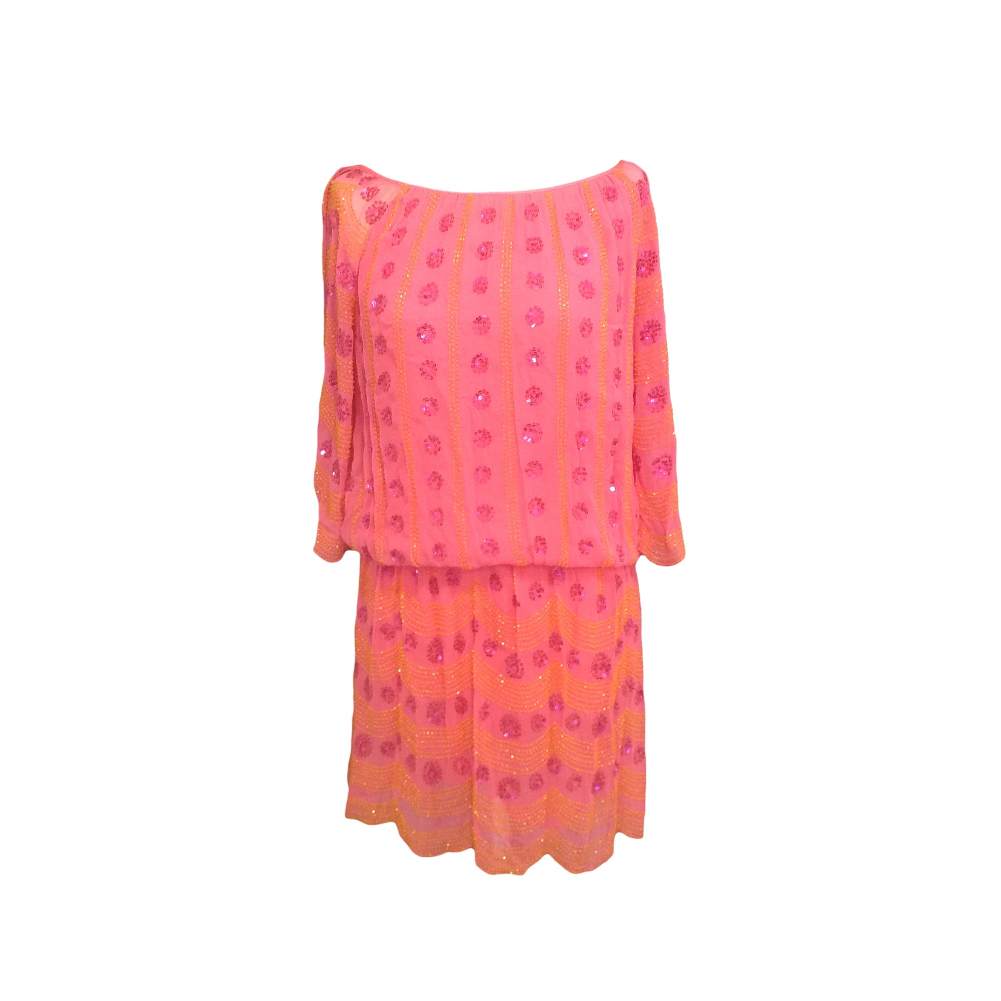 Mini Dress ANTIK BATIK Pink, fuchsia, light pink