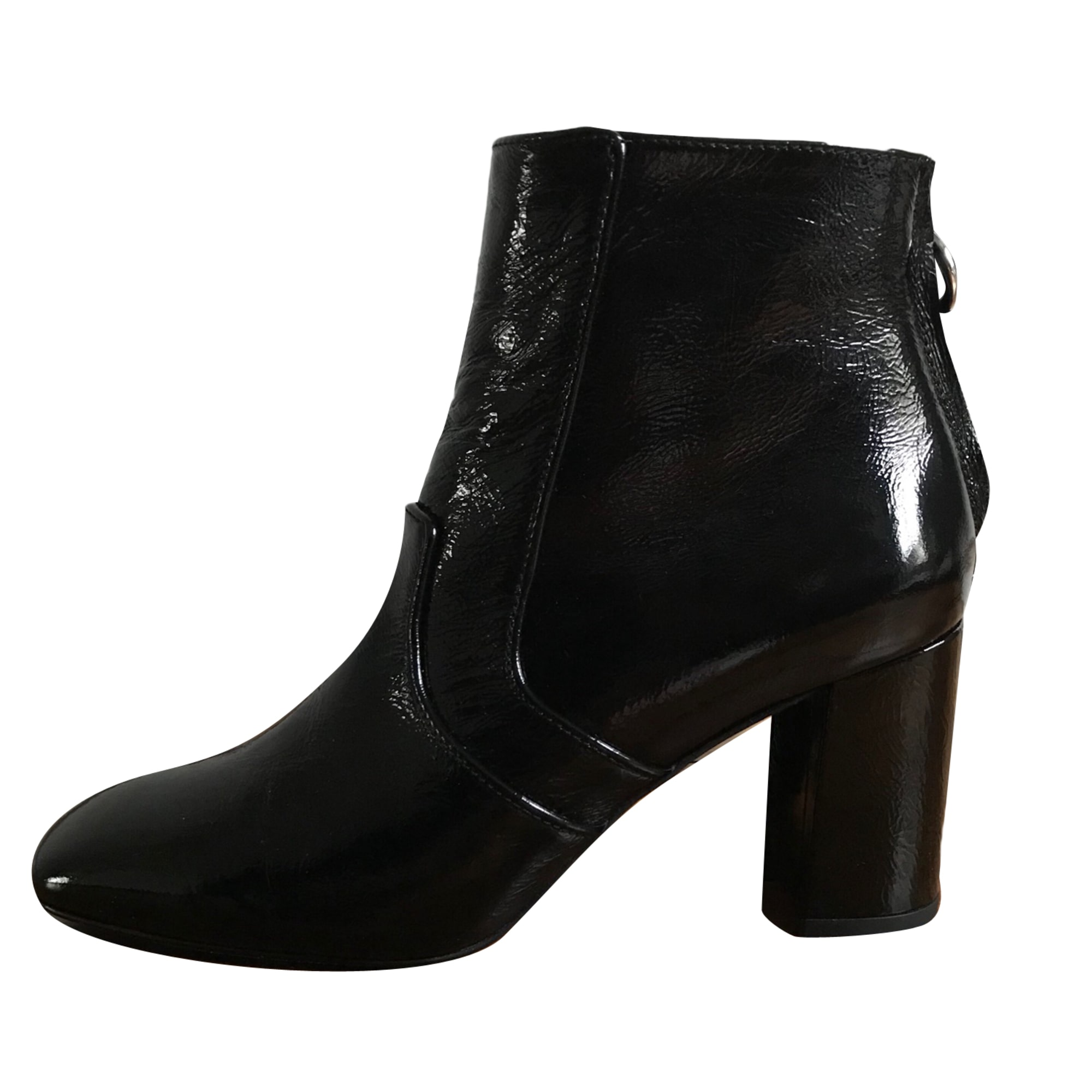 bbc7c761728dc Bottines   low boots à talons CLAUDIE PIERLOT 38 noir vendu par ...