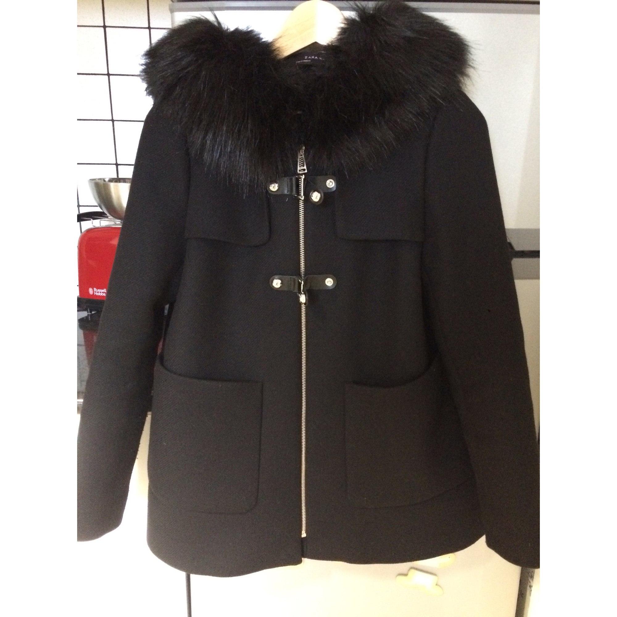 boucle manteau zara manteau zara noir noir manteau boucle reCodxB