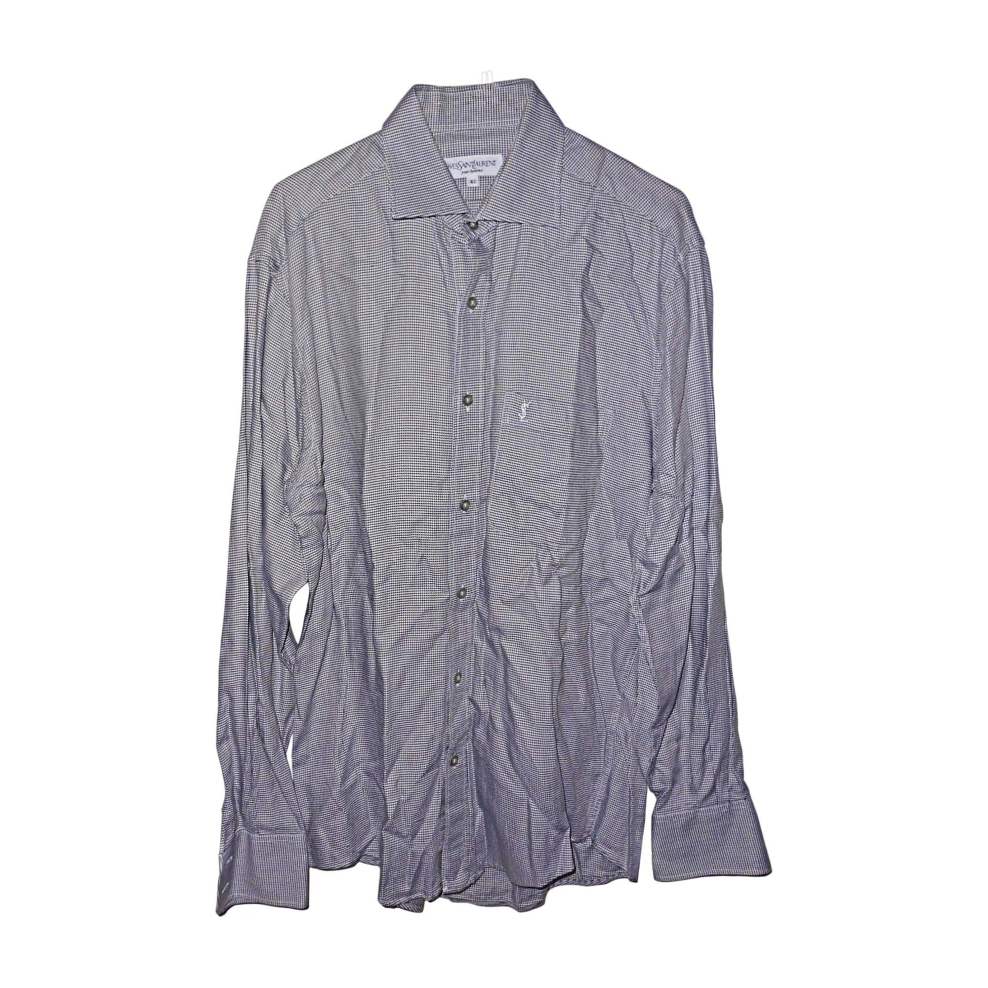 chemise yves saint laurent 39 40 m multicouleur 7045735. Black Bedroom Furniture Sets. Home Design Ideas