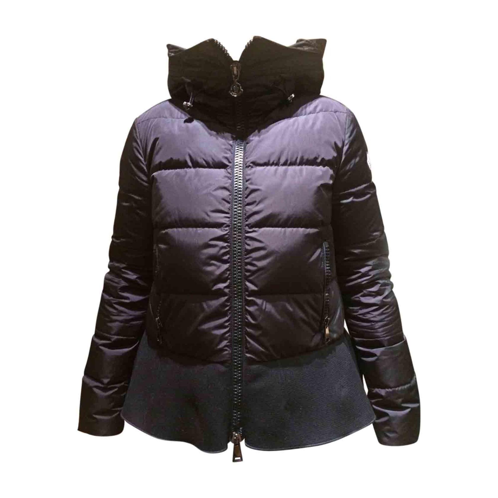 2475deb75875 Doudoune MONCLER 38 (M, T2) noir vendu par Caroline 6147 - 7045851