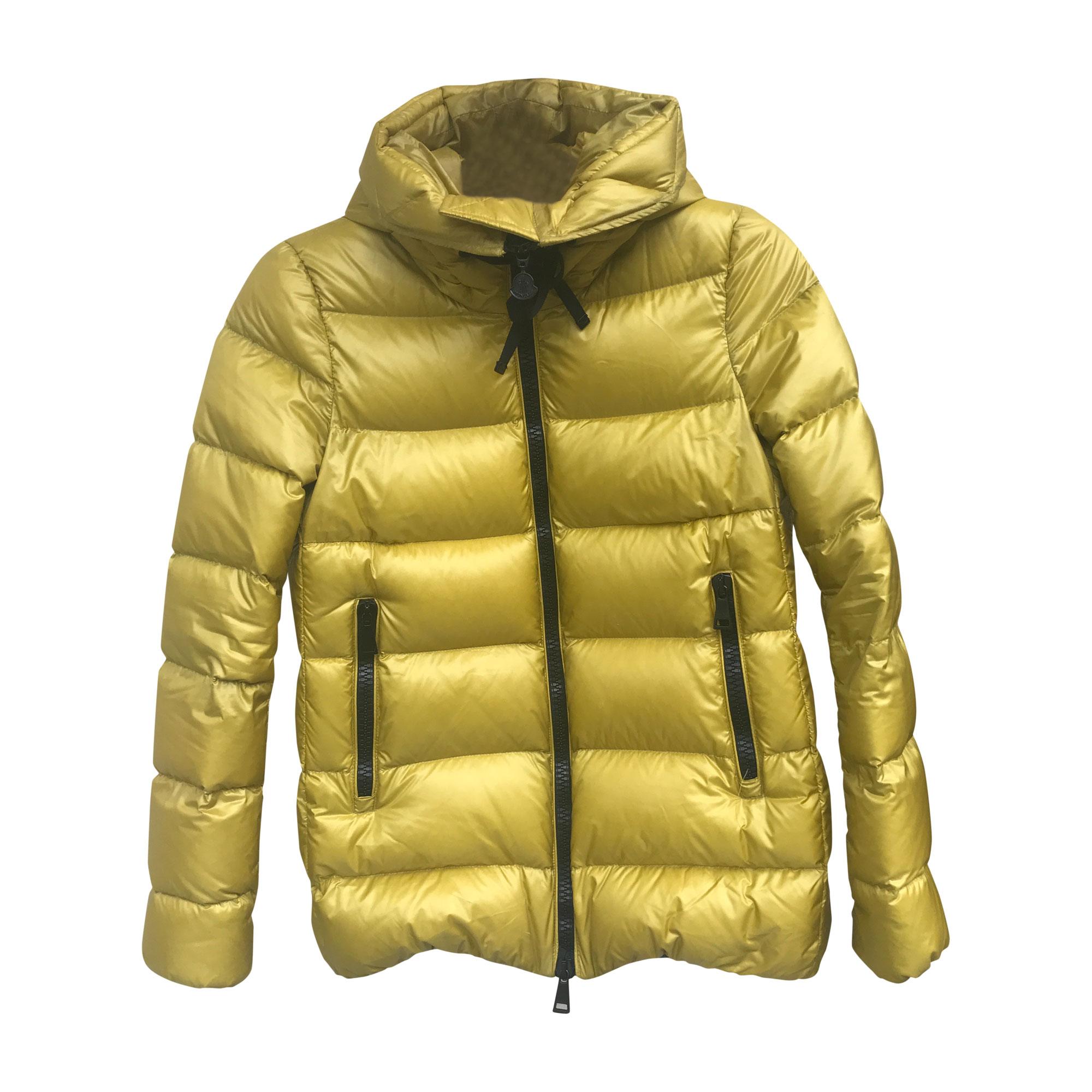 5034d1f3764b Doudoune MONCLER 36 (S, T1) jaune vendu par Carolinetc - 7045981