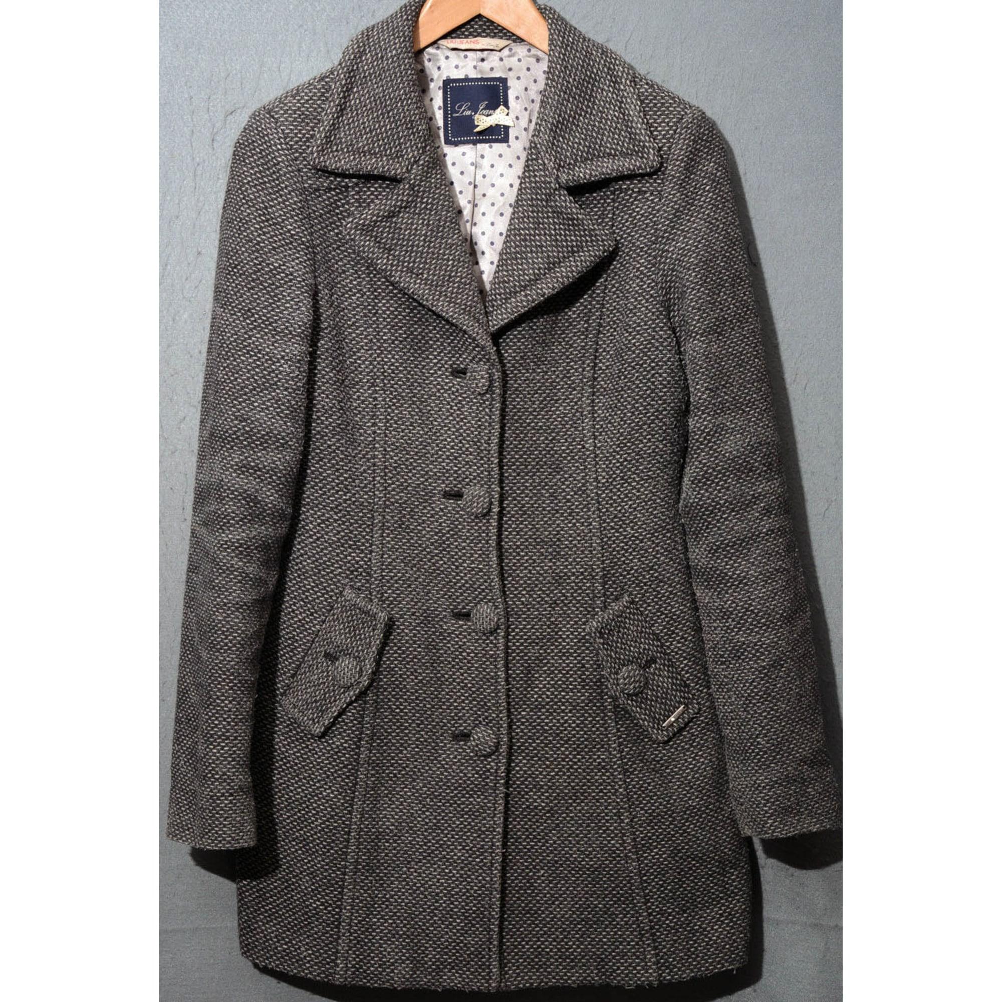 Manteau gris liu jo