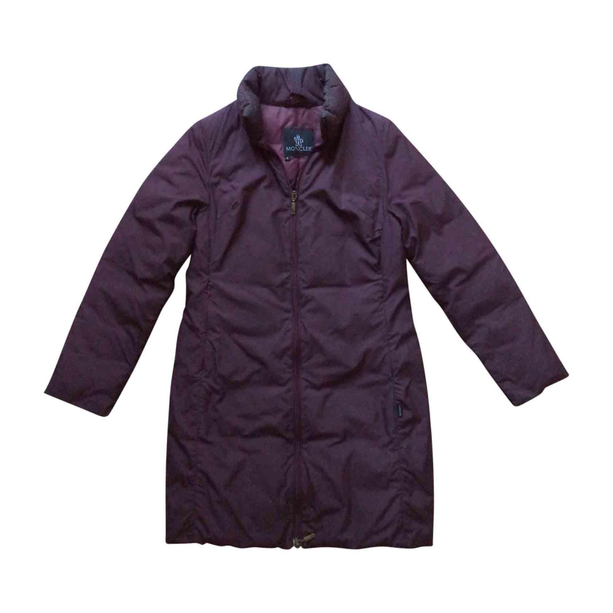 Doudoune MONCLER 34 (XS, T0) violet vendu par Allmixstyle377 - 7047658 f0fa090bb6b