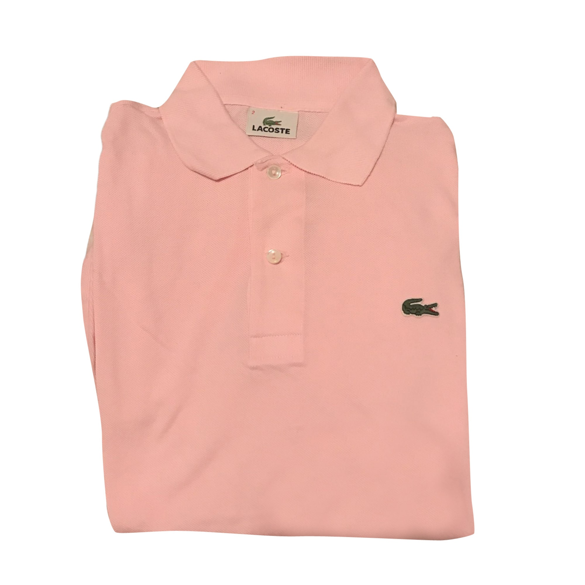 Polo LACOSTE Pink, fuchsia, light pink 406362dfc9