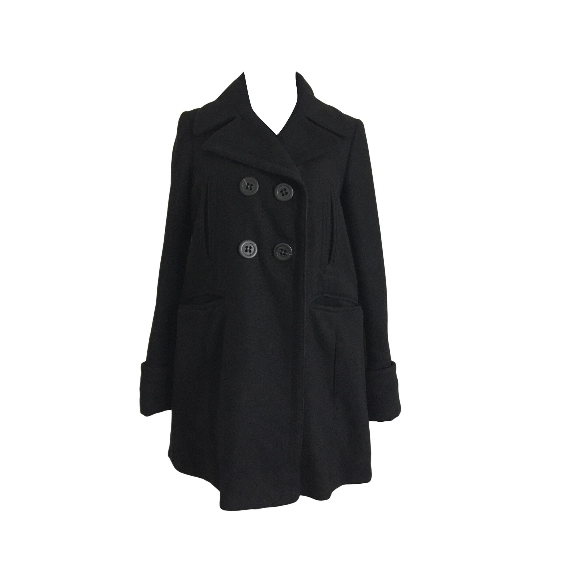Manteau comptoir des cotonniers 38 m t2 noir vendu par - Comptoir des cotonniers ch ...