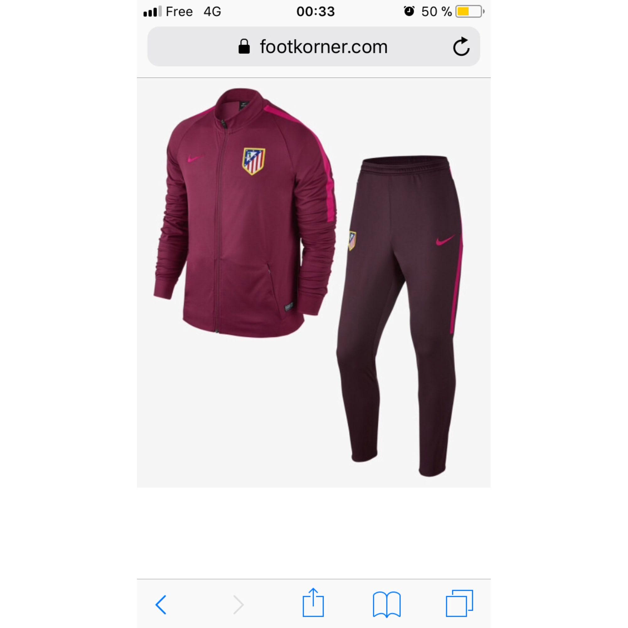 cheap for discount a34d9 d1e8e Ensemble jogging NIKE Marron rose