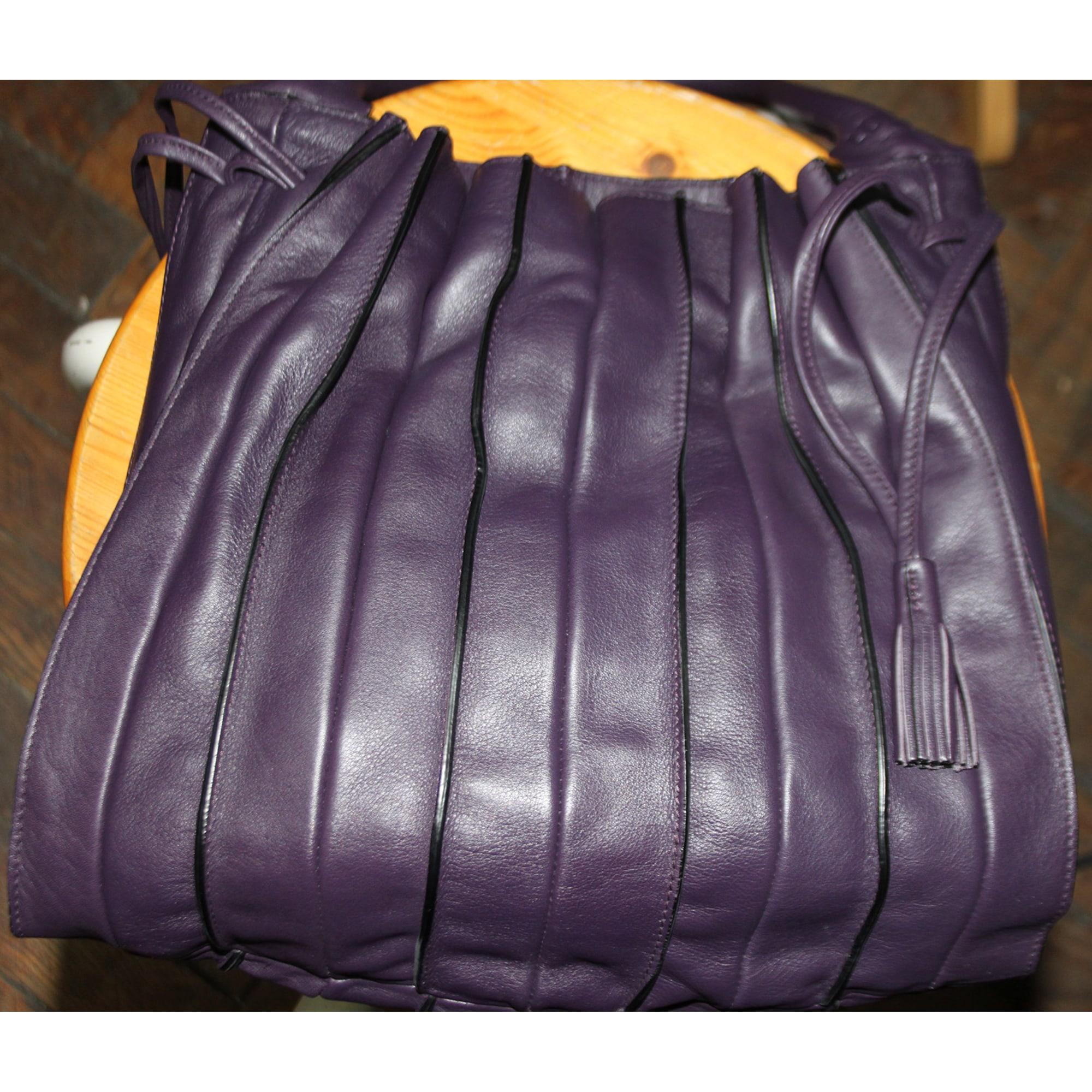 Sac à main en cuir LUPO BARCELONA cuir violet jU3Hkx