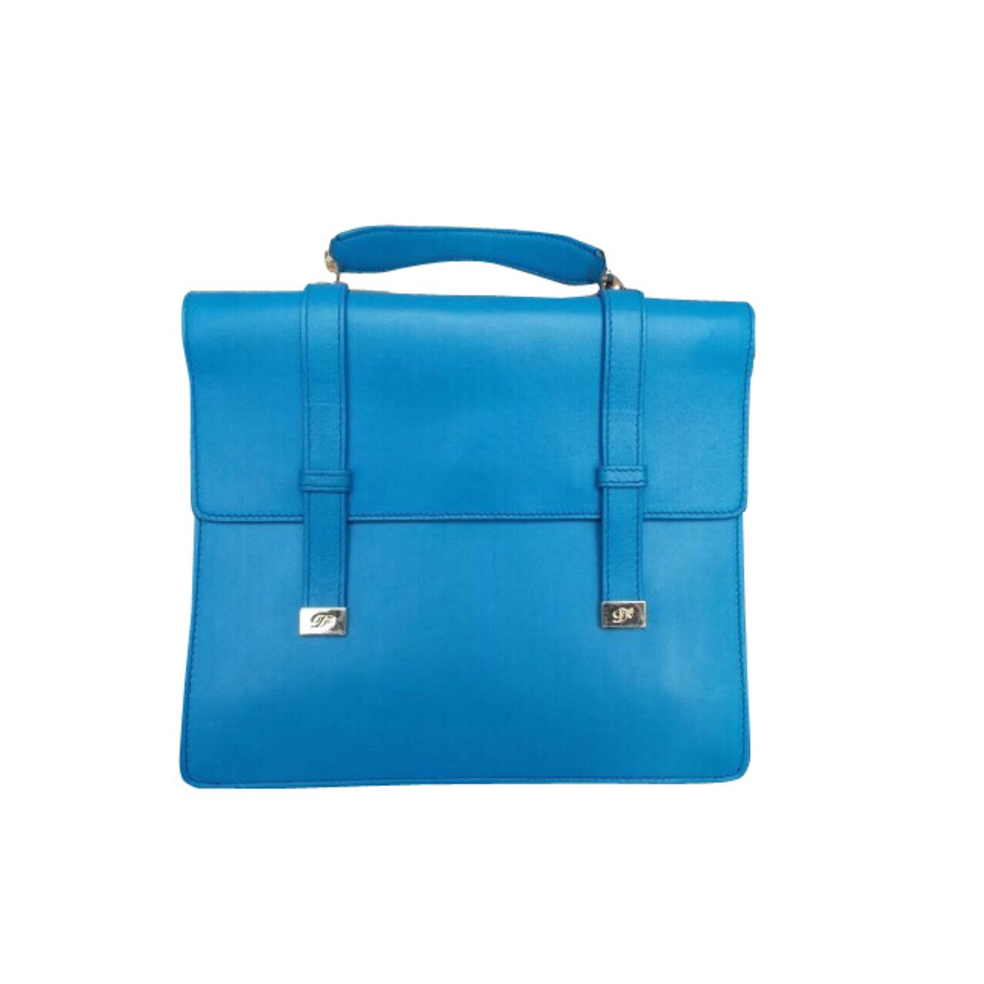 95fe26223c Sac à main en cuir DSQUARED2 Bleu, bleu marine, bleu turquoise
