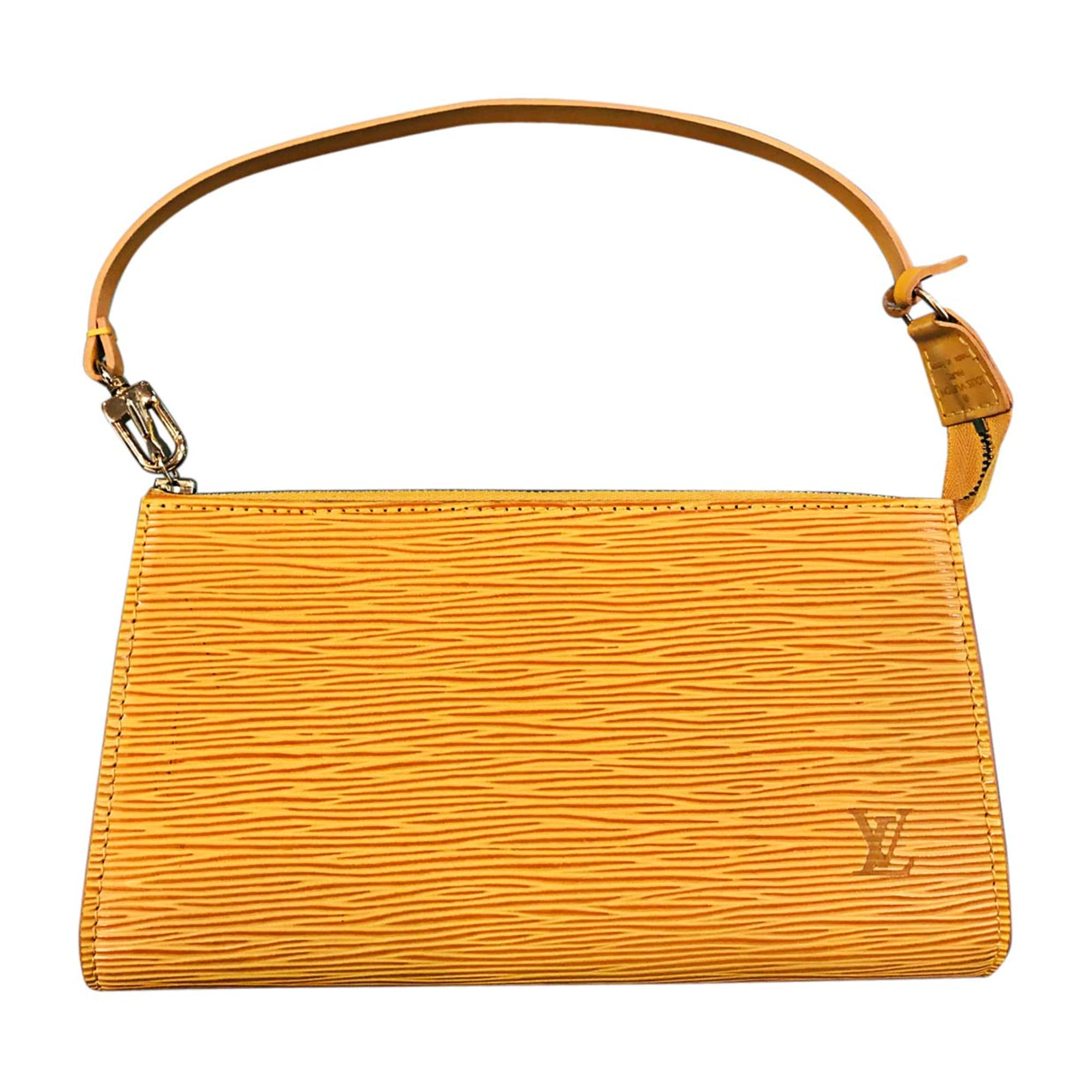 Pochette LOUIS VUITTON jaune vendu par Dress troc de haguenau - 7085839 f790d466607
