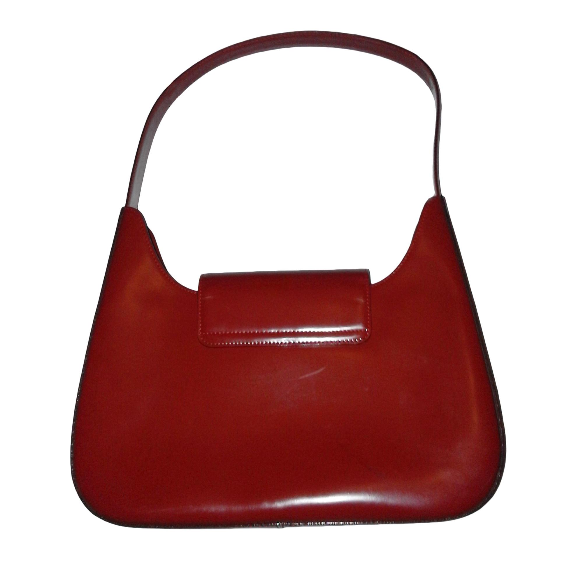 b9aad897c6 Sac à main en cuir LANCEL rouge vendu par Val 28 - 7086084