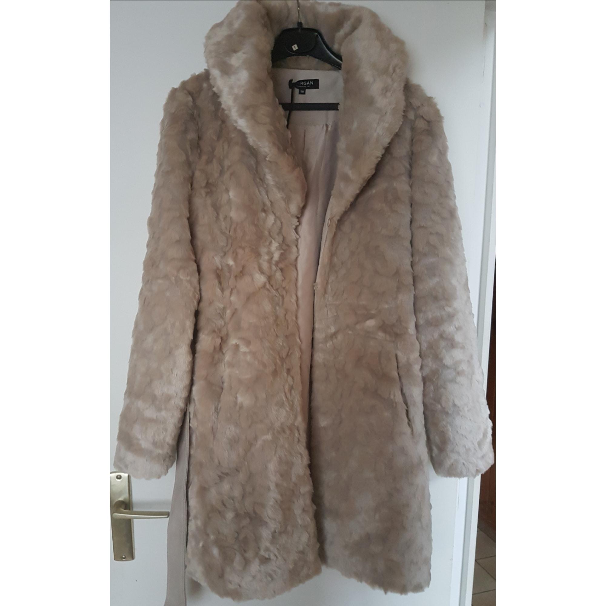 Manteau fourrure femme morgan