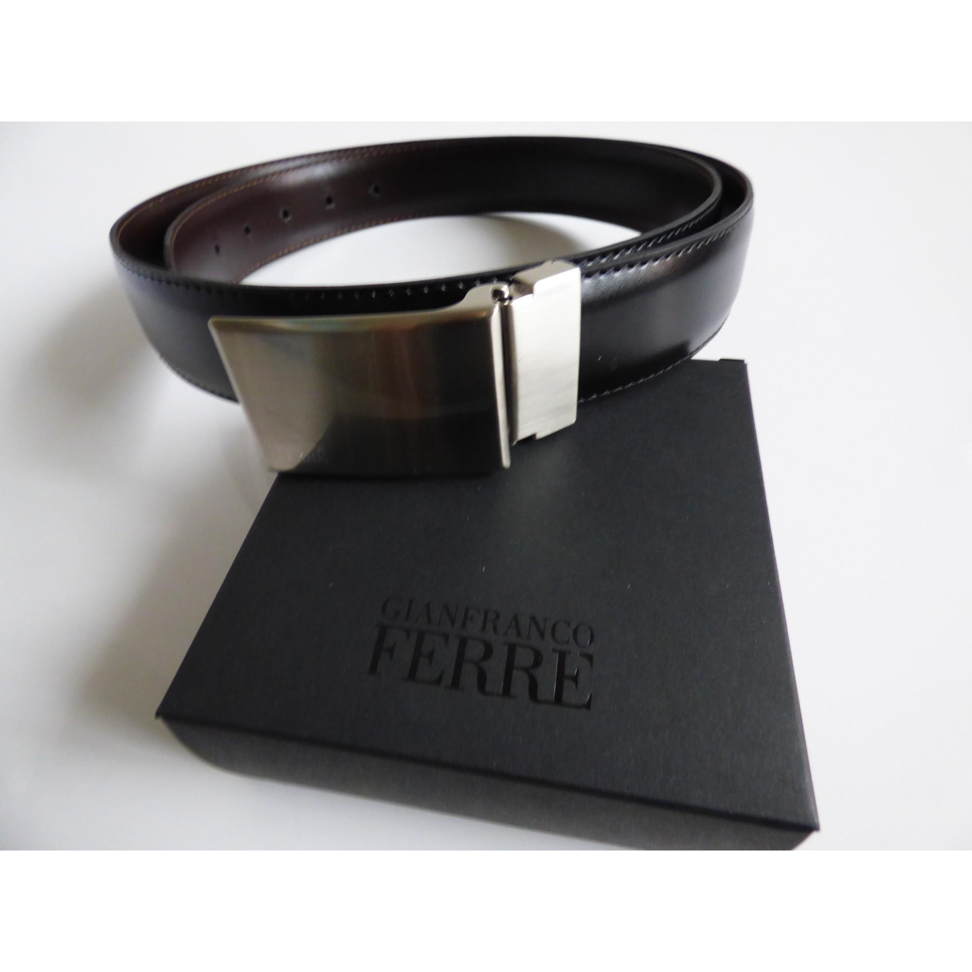 b37de5ee29a Ceinture GIANFRANCO FERRE Taille unique noir - 7088130