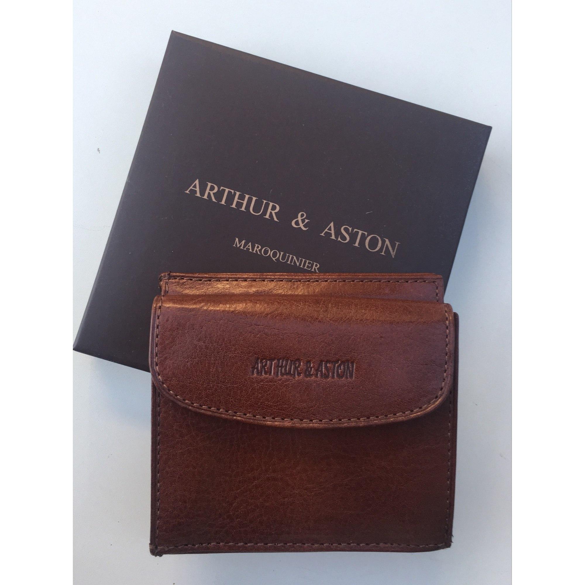 a494341de50 Porte-cartes ARTHUR   ASTON marron vendu par La boutique de drole 2 ...