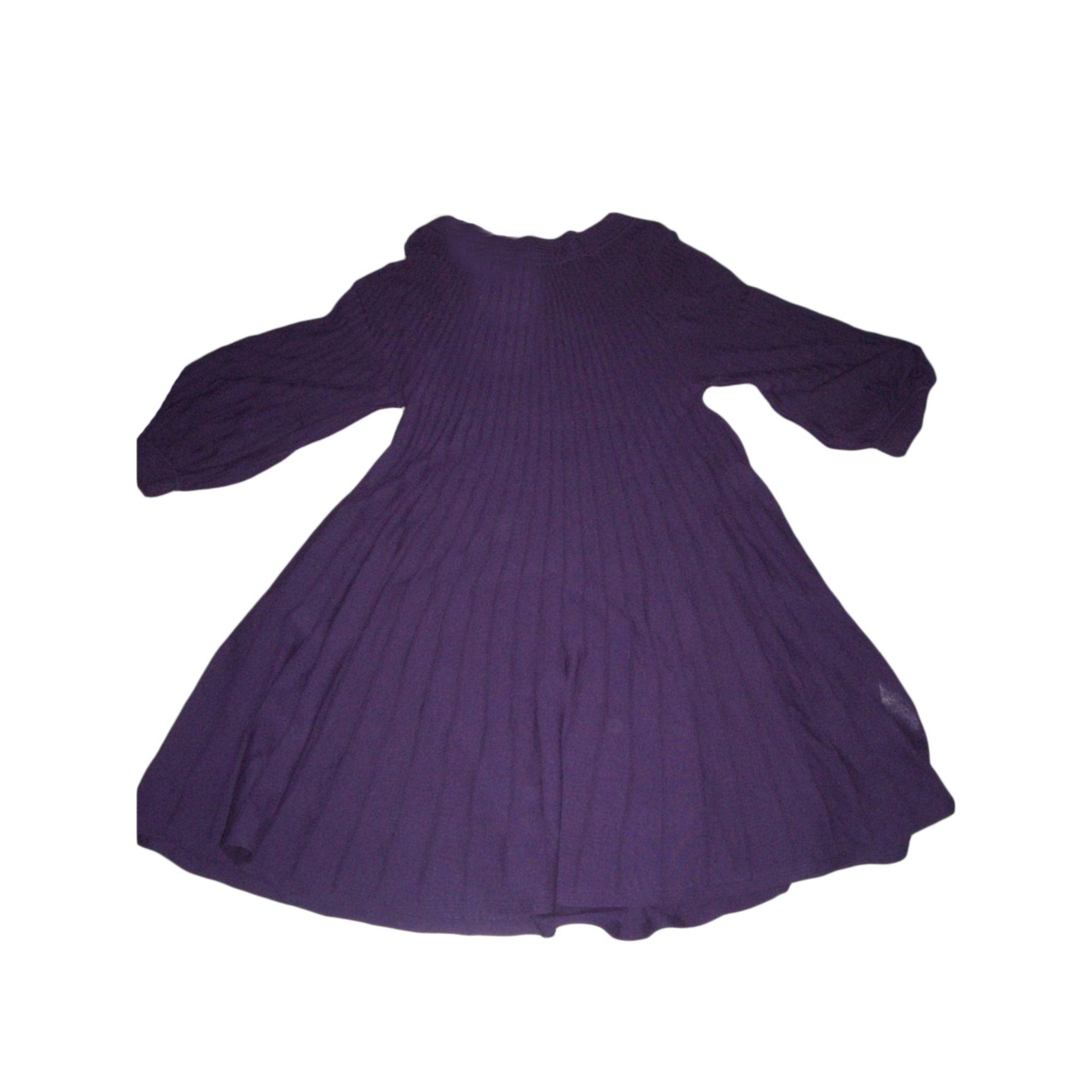 Robe tunique comptoir des cotonniers 38 m t2 violet vendu par joji 7096652 - Tunique comptoir des cotonniers ...