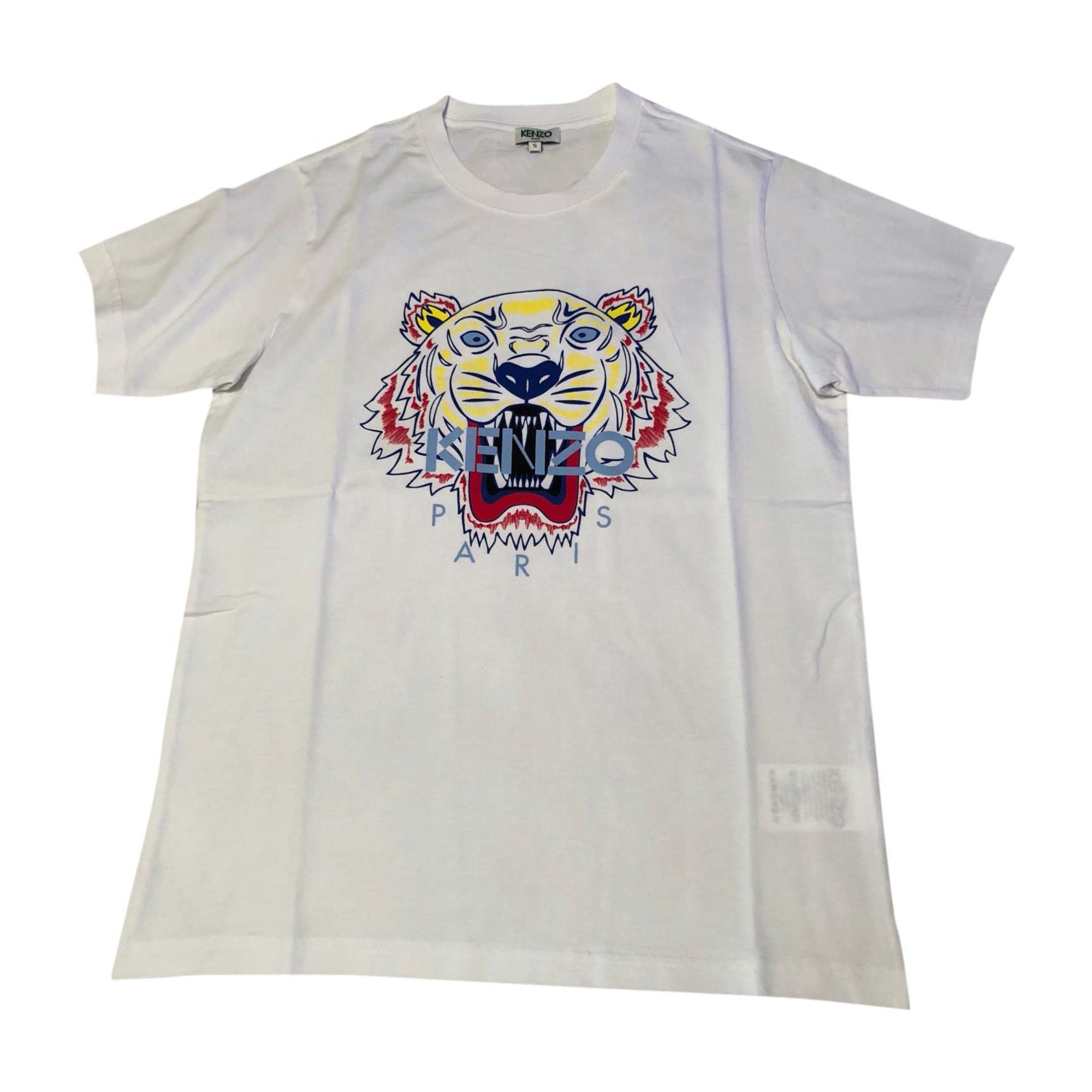 T-shirt KENZO 1 (S) white vendu par Anais... - 7098652 3e4106e7bd1