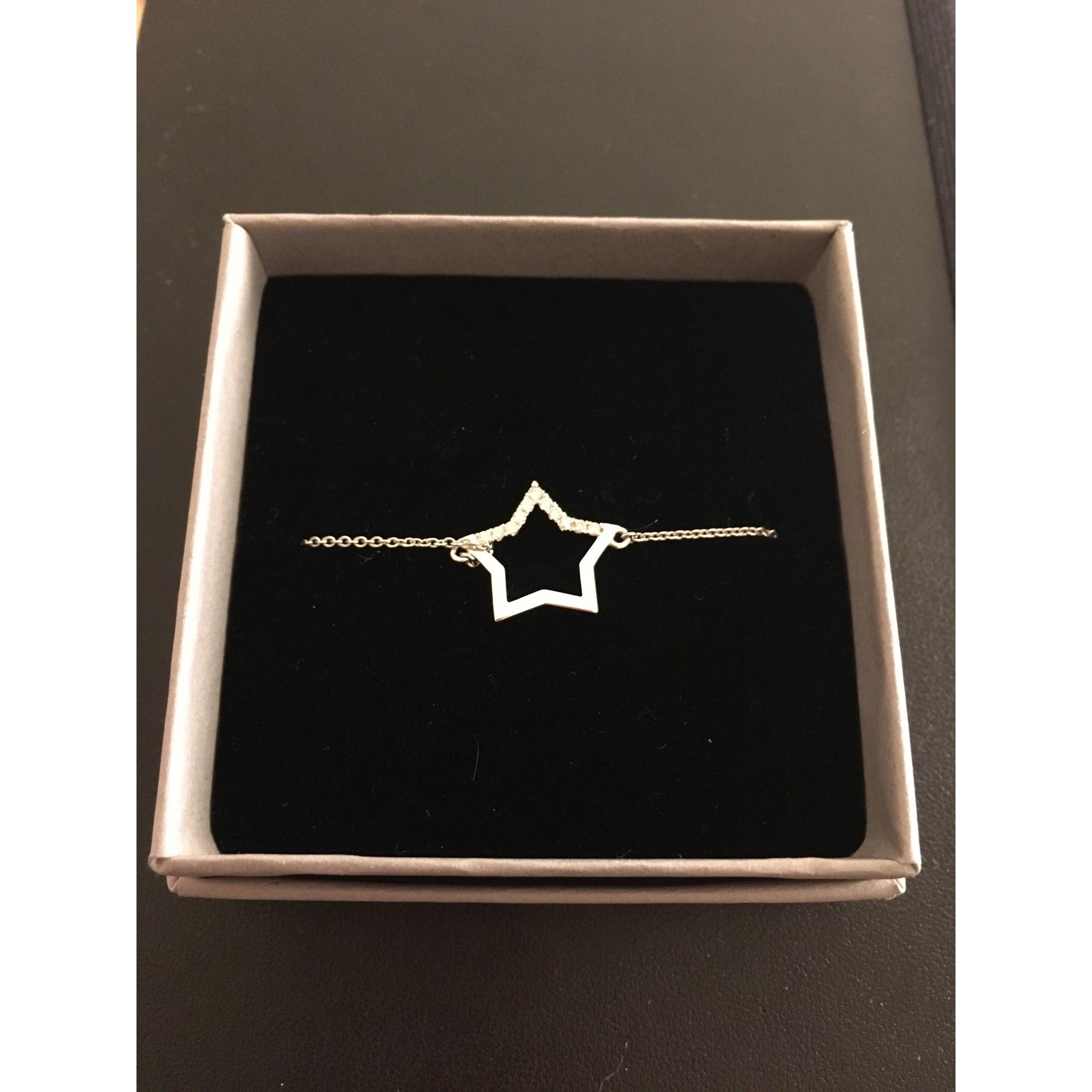 Bracelet VANESSA TUGENDHAFT or blanc argent
