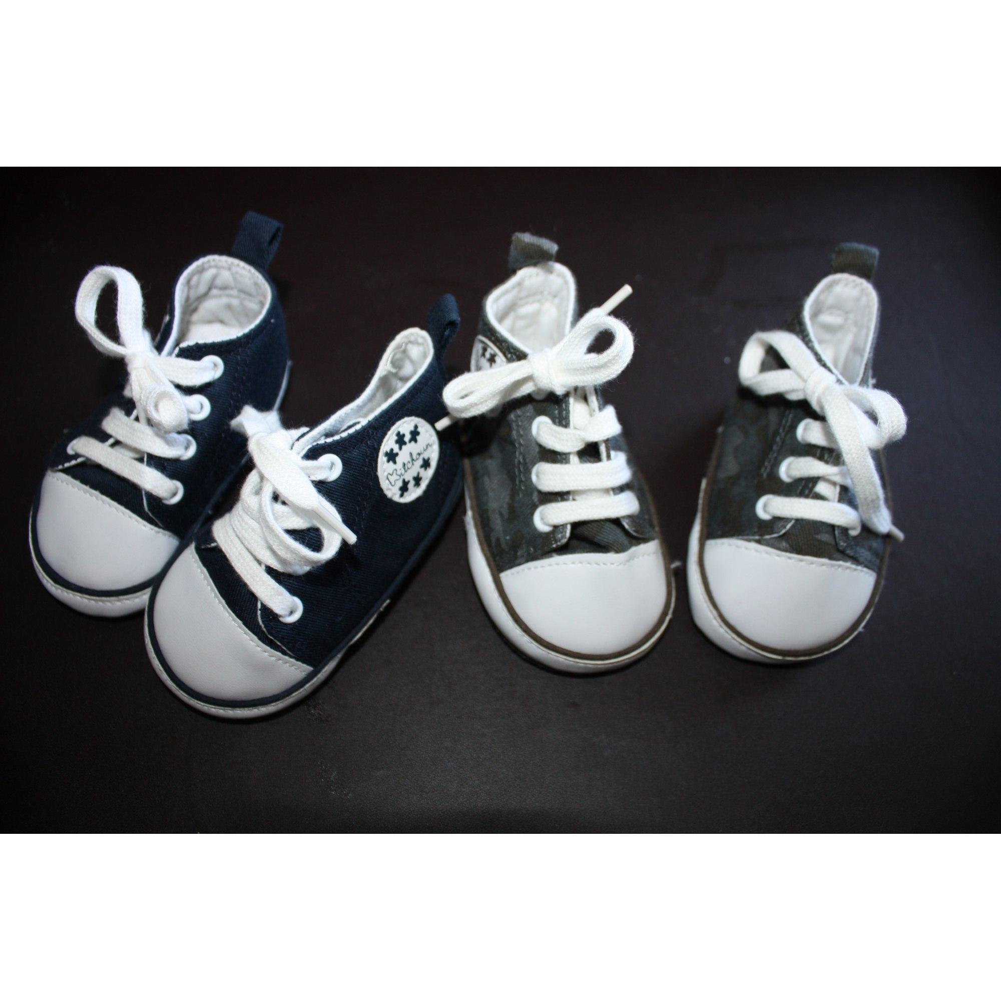 64f1ac12db673 Chaussures à lacets KITCHOUN 12 mois multicouleur - 710389