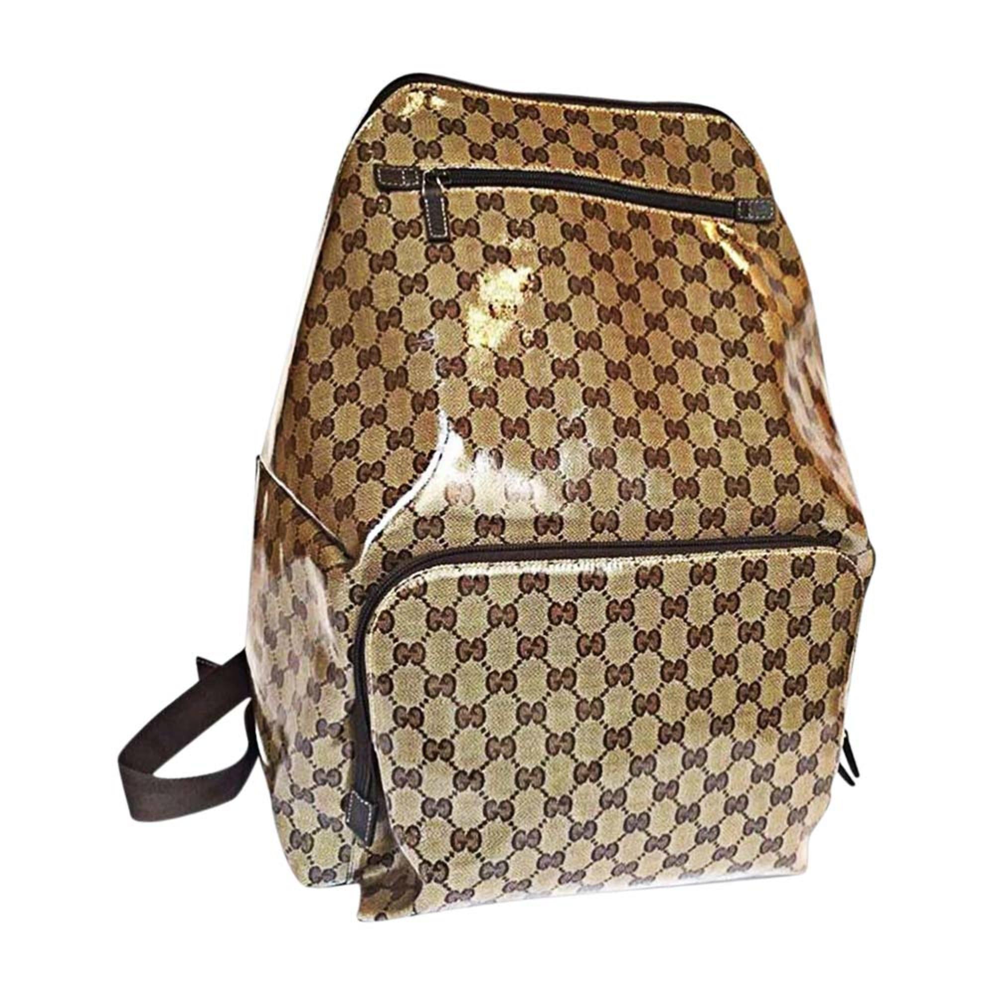 dd416c8a2829 Backpack GUCCI brown vendu par Vide dressing de sarah - 7106100
