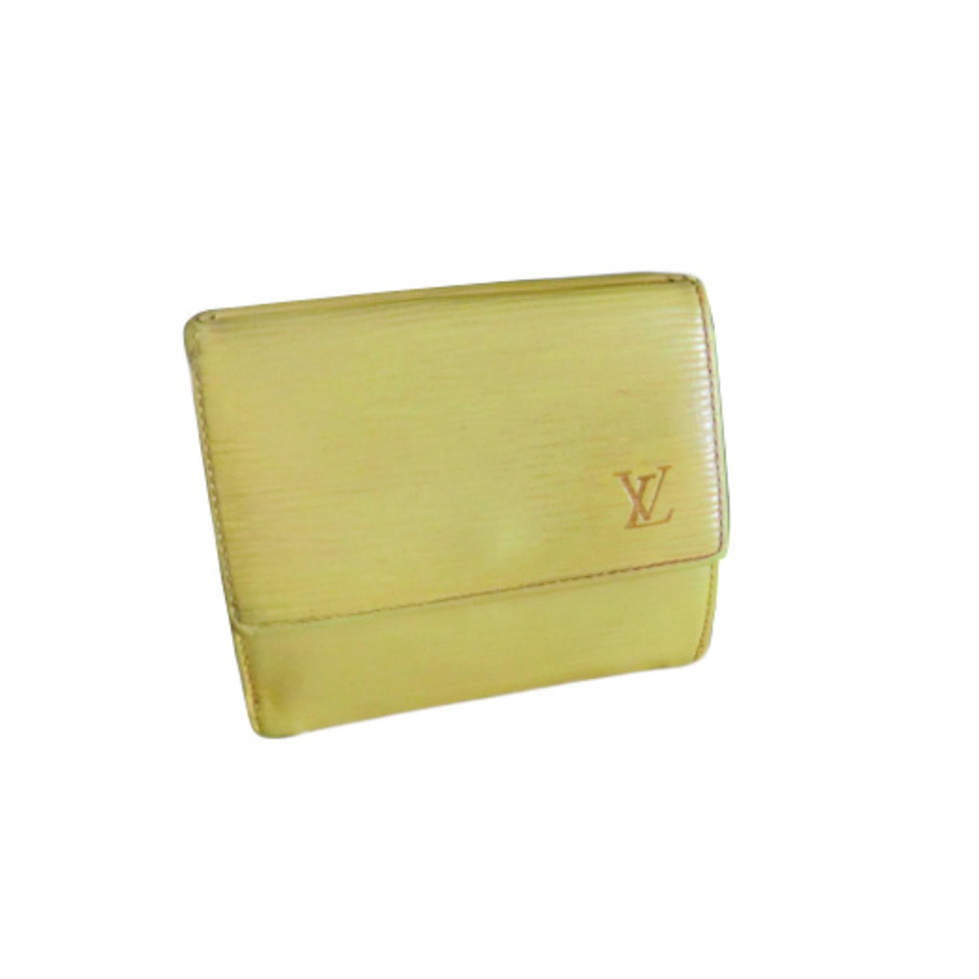 Portefeuille LOUIS VUITTON jaune vendu par D anna 16141143 - 711156 d6cc739aa98
