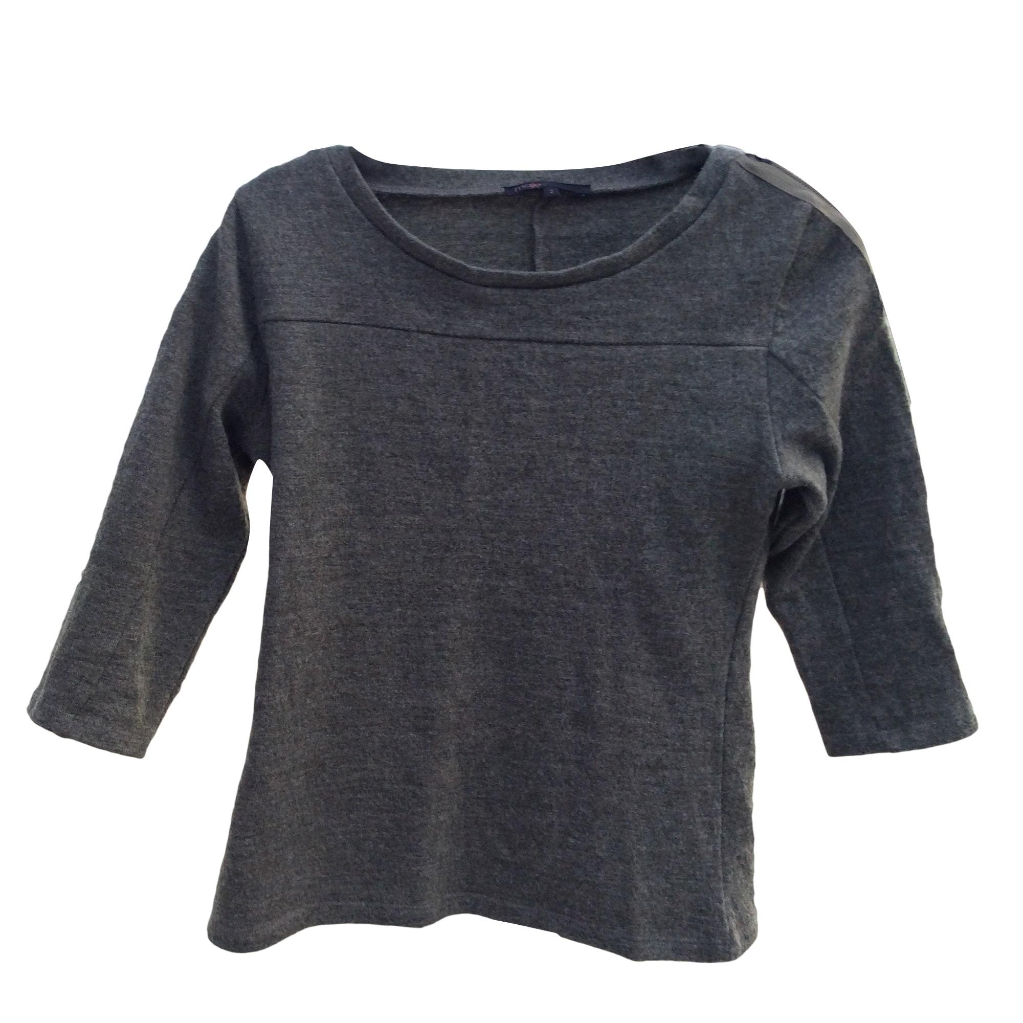 Maje Top, tee-shirt laine 38 (M, T2)