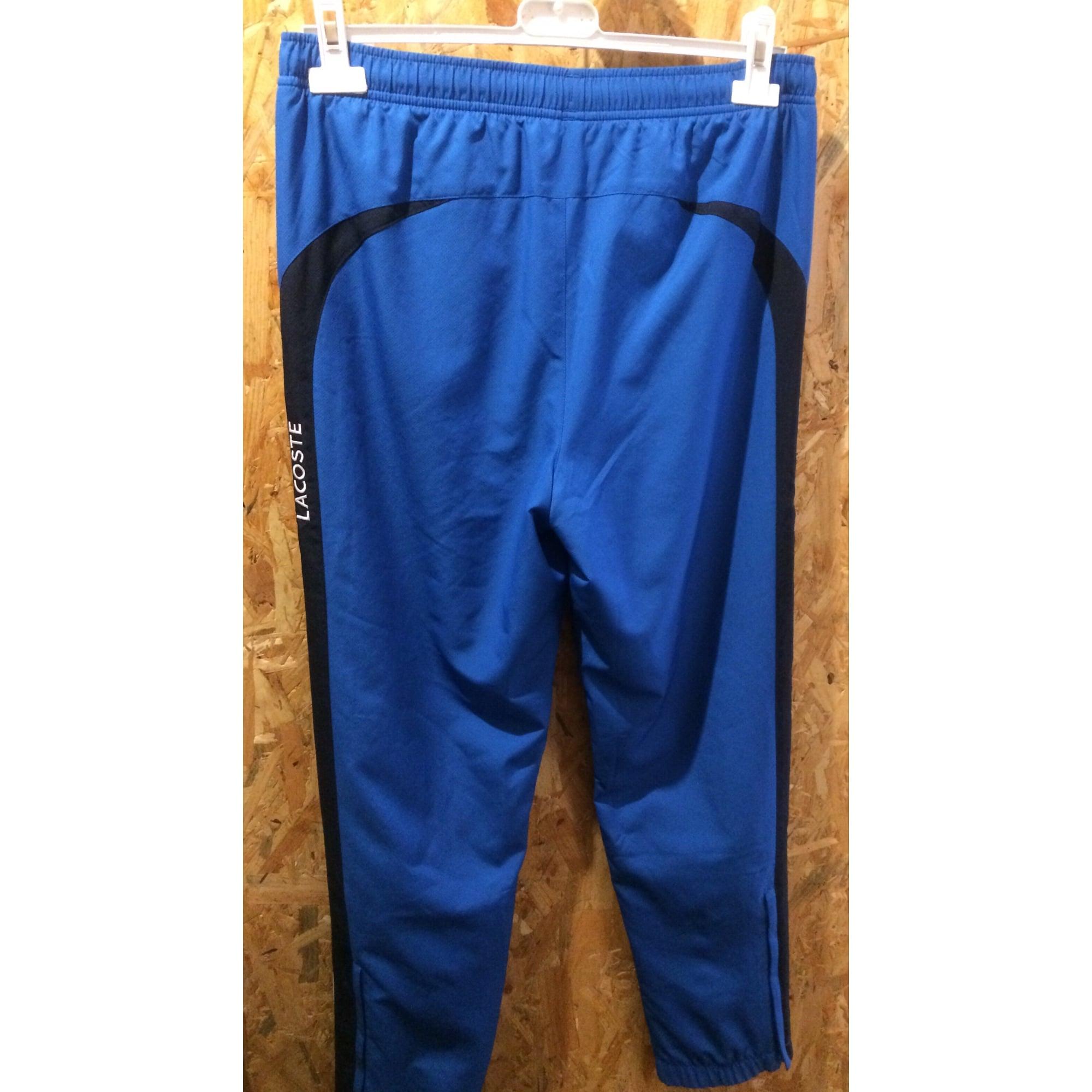 fd1dda4fc7c Pantalon de survêtement LACOSTE 34 bleu vendu par Sylvie 6326 - 7124869