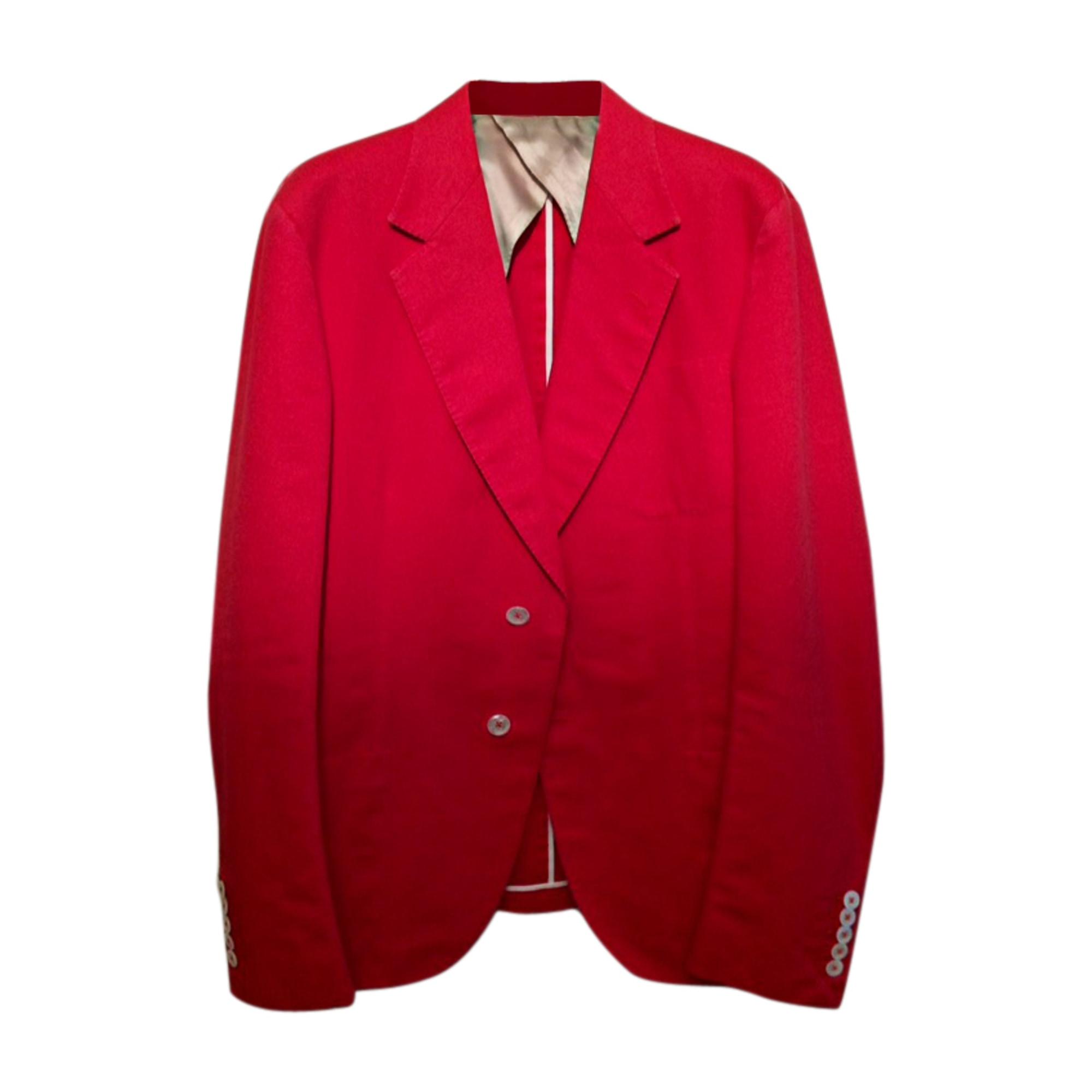 Veste de costume GUCCI 48 (M) rouge - 7137431 d0d49ba4f7f2
