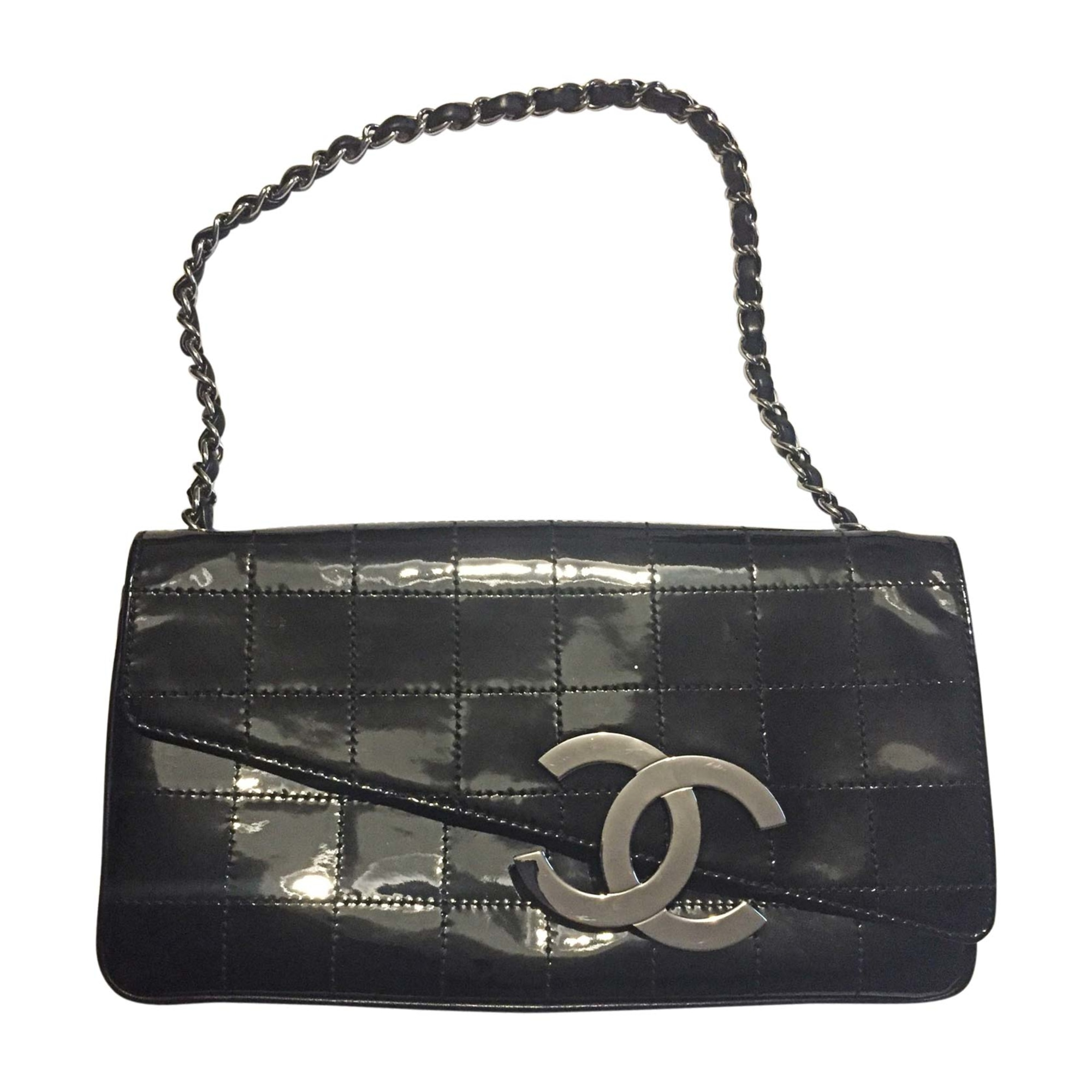 handtasche leder chanel schwarz vendu par simeon 0107 7138537. Black Bedroom Furniture Sets. Home Design Ideas