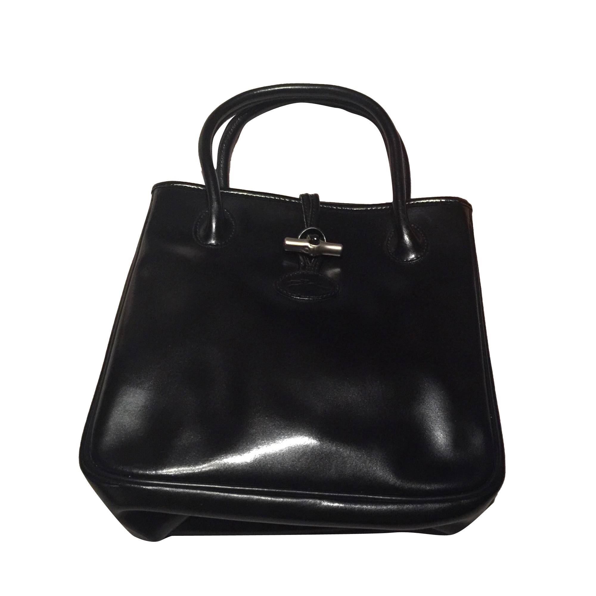 e95c95a1a95bf Sac à main en cuir LONGCHAMP noir vendu par L'accro du shopping49105 ...