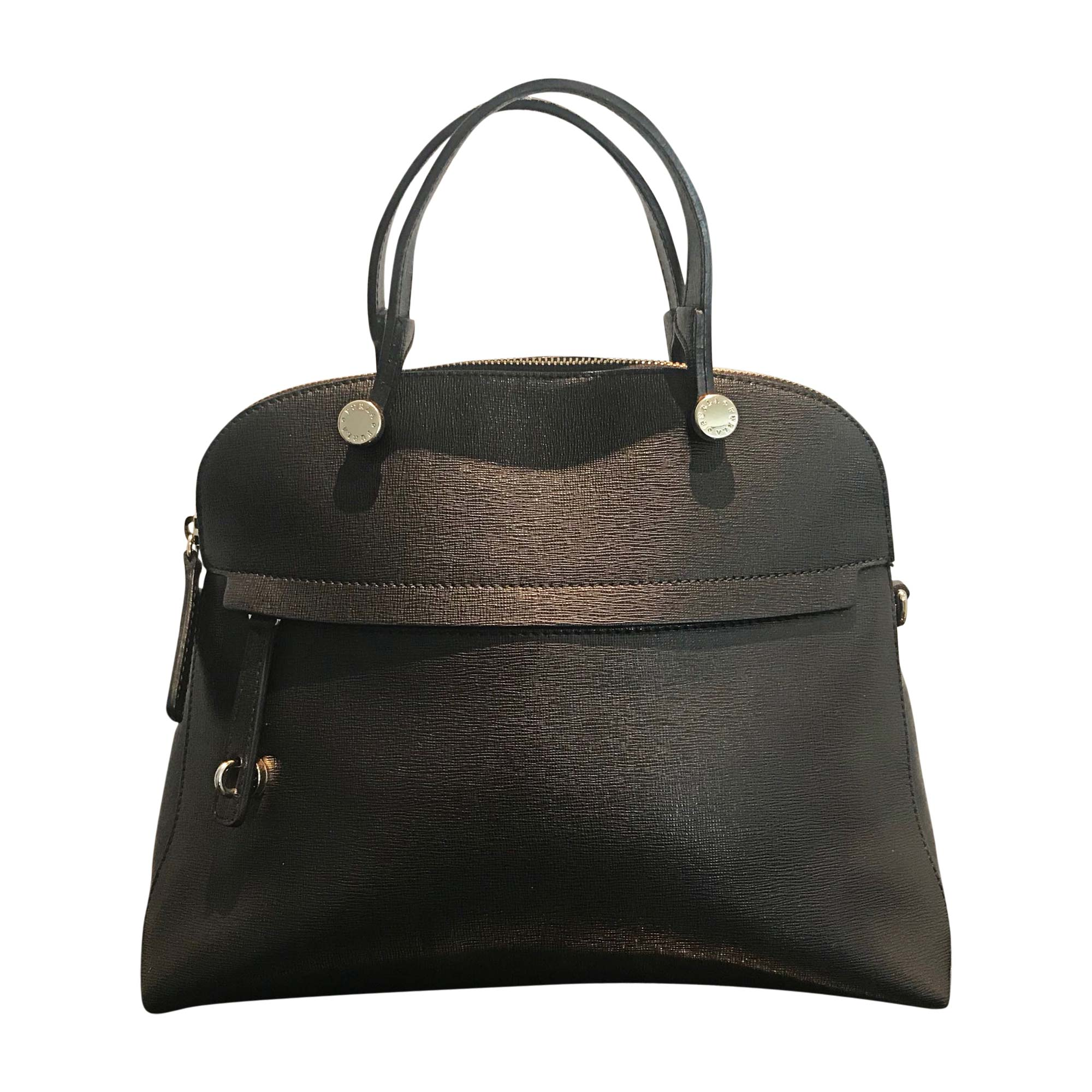 Leather Handbag FURLA Black