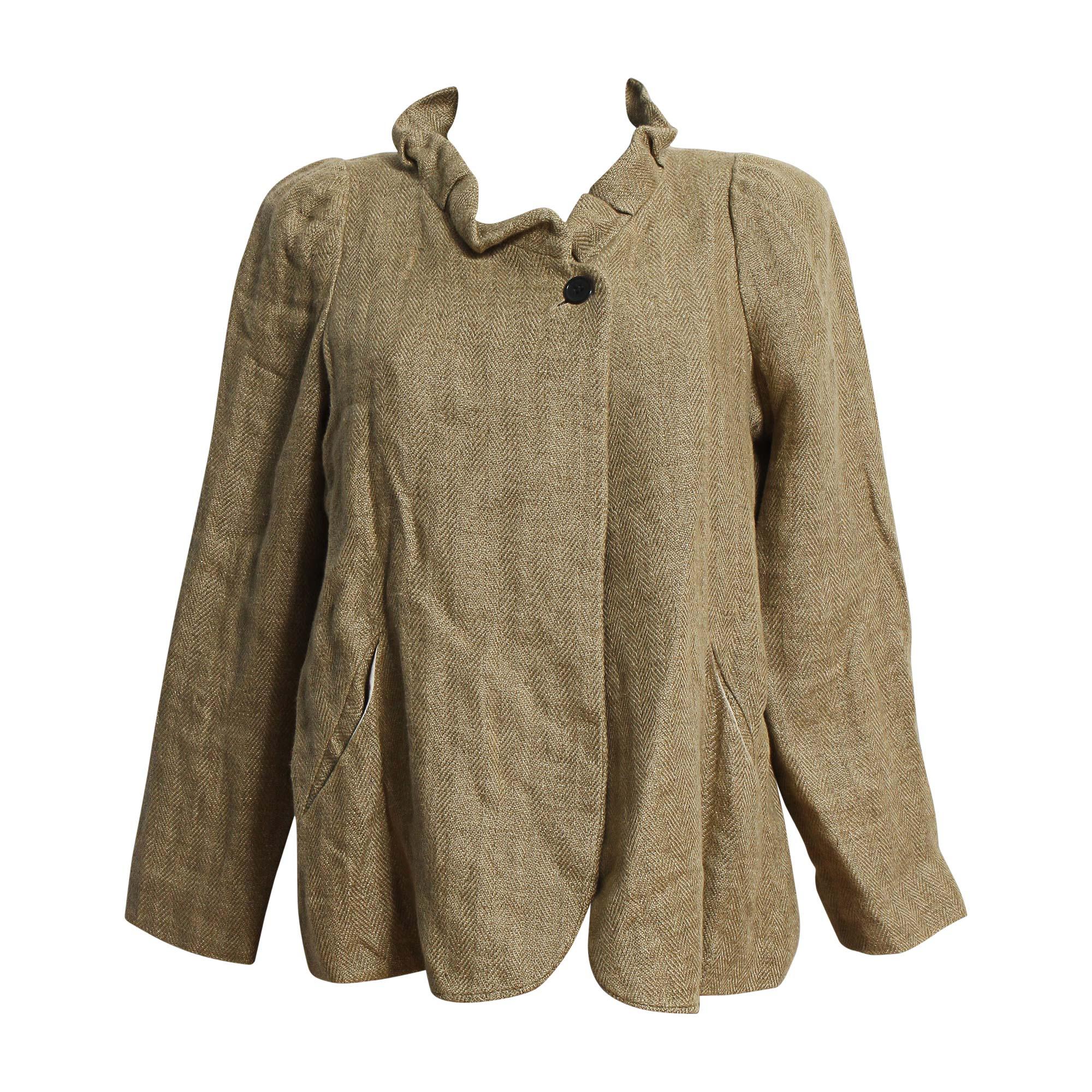 Veste ISABEL MARANT ETOILE Doré, bronze, cuivre
