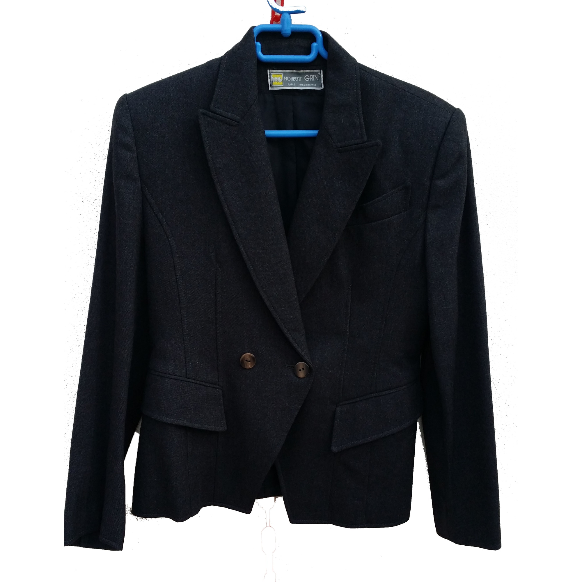 Blazer, veste tailleur NORBERT GRIN 38 (M, T2) gris - 7154775 f10979eb11dc