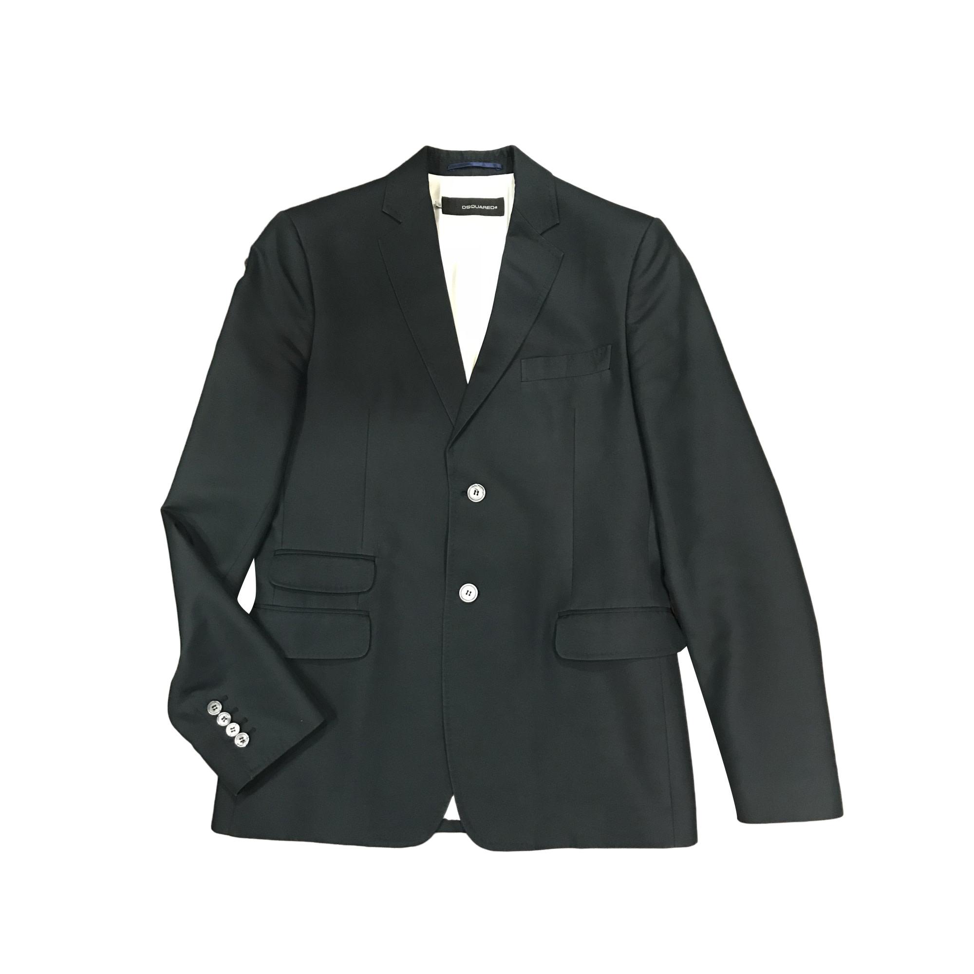 Veste de costume DSQUARED2 52 (L) bleu vendu par Dress troc de ... 8c90b5ff3162