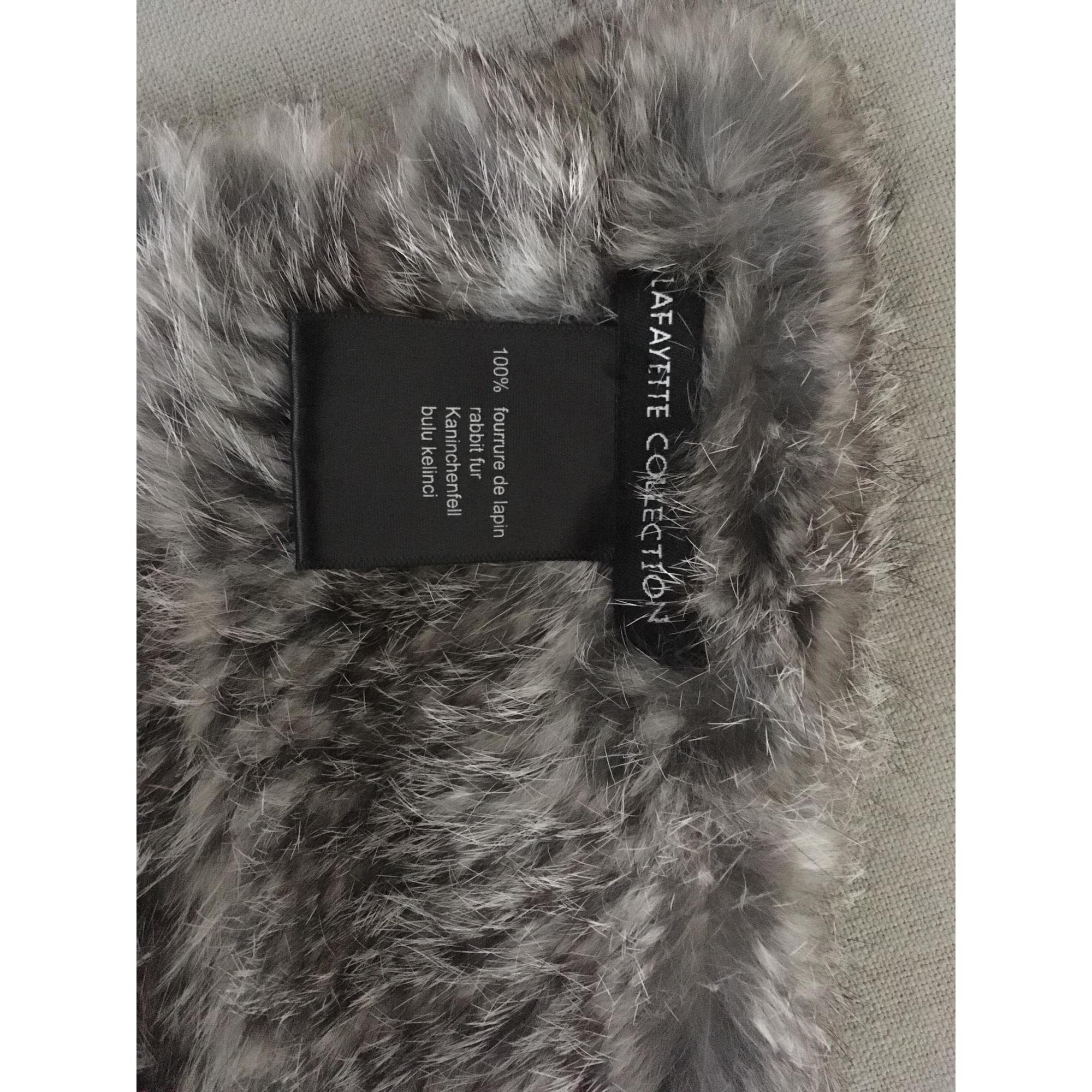 79ac456591b Echarpe GALERIES LAFAYETTE PARIS gris - 7160129