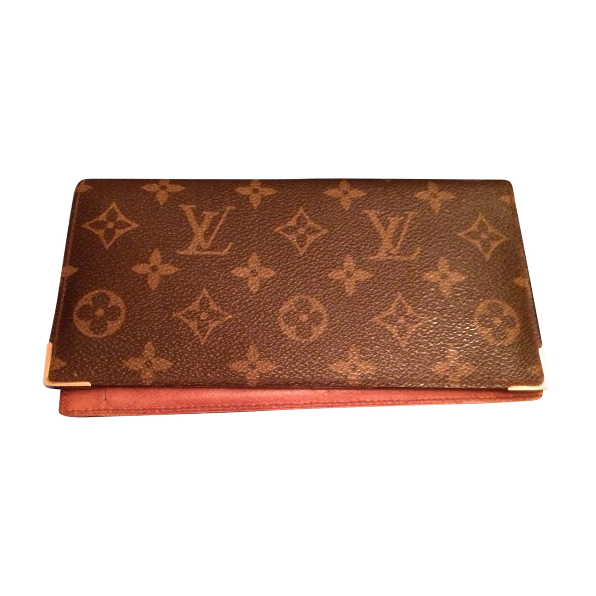 23aa3a54c6c5 Checkbook Cover LOUIS VUITTON brown vendu par Francine 405 - 7163046