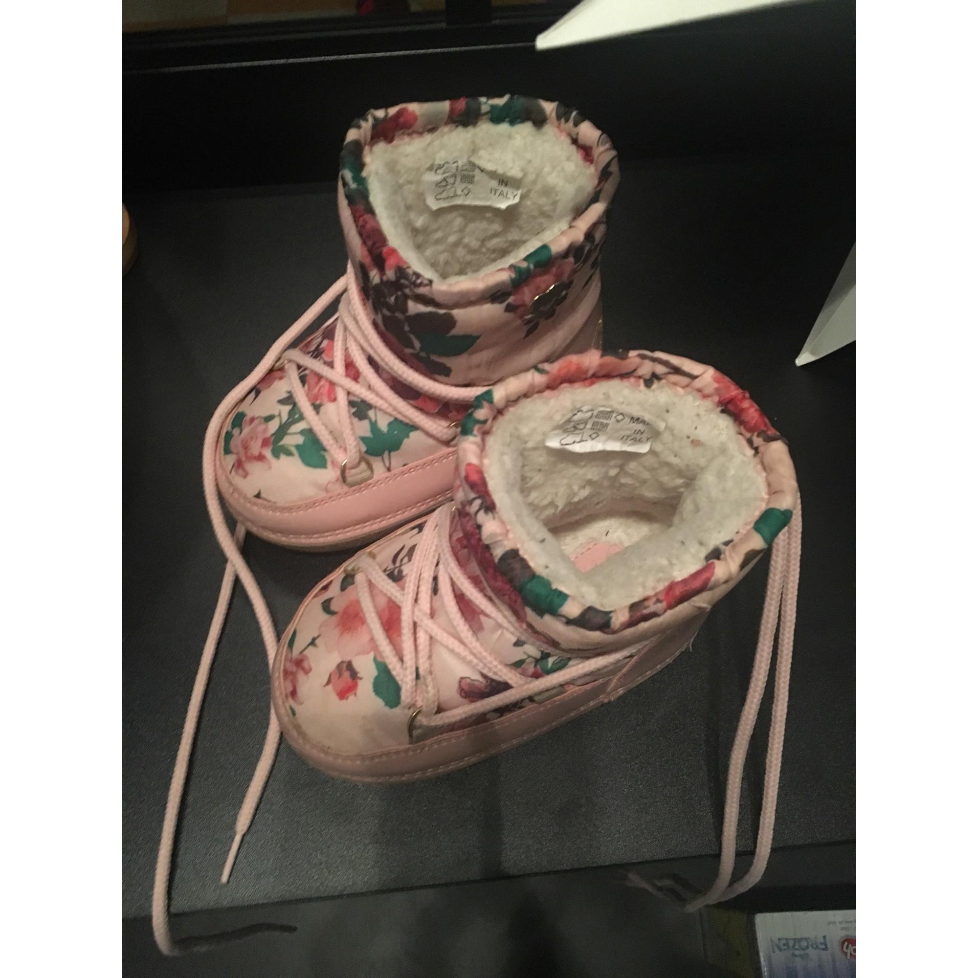 Bottes de neige EMPORIO ARMANI synthétique rose 26