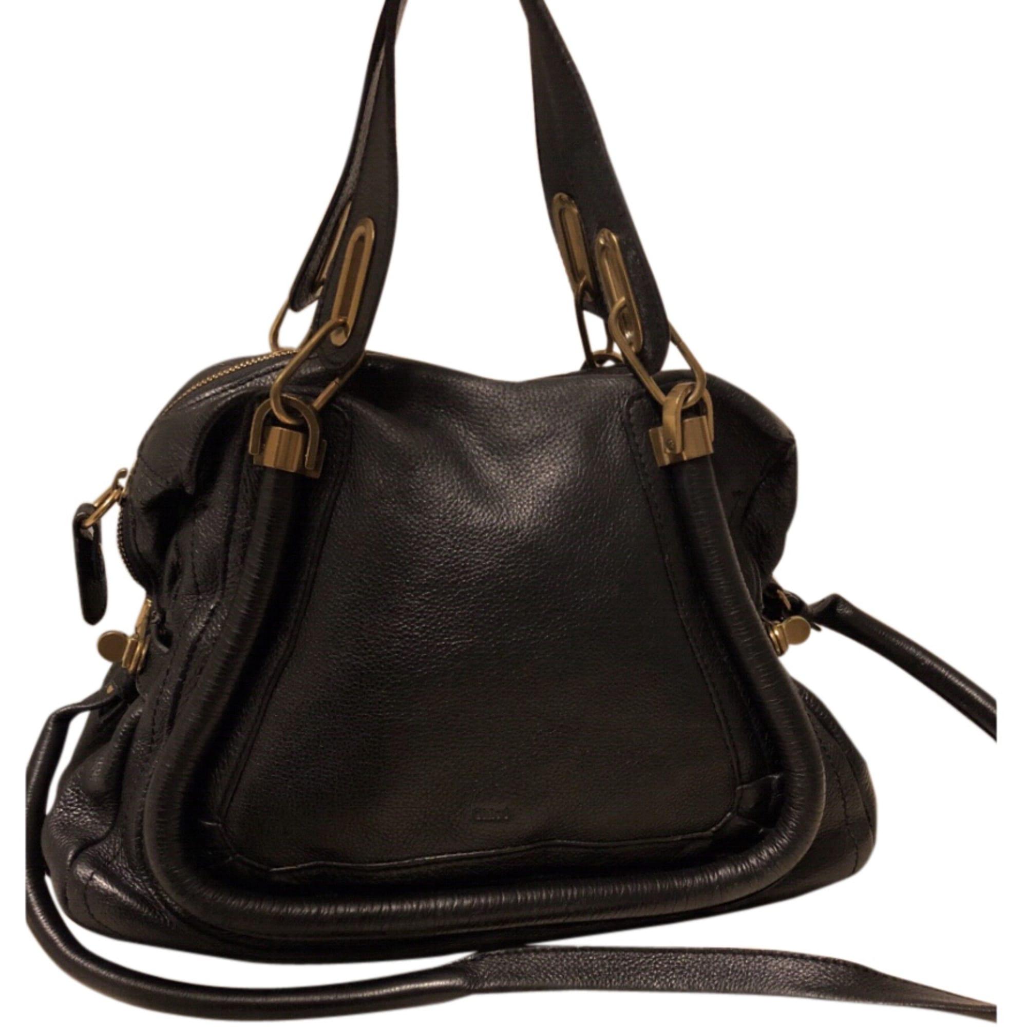sac main en cuir chlo noir vendu par katia93867 7168324. Black Bedroom Furniture Sets. Home Design Ideas