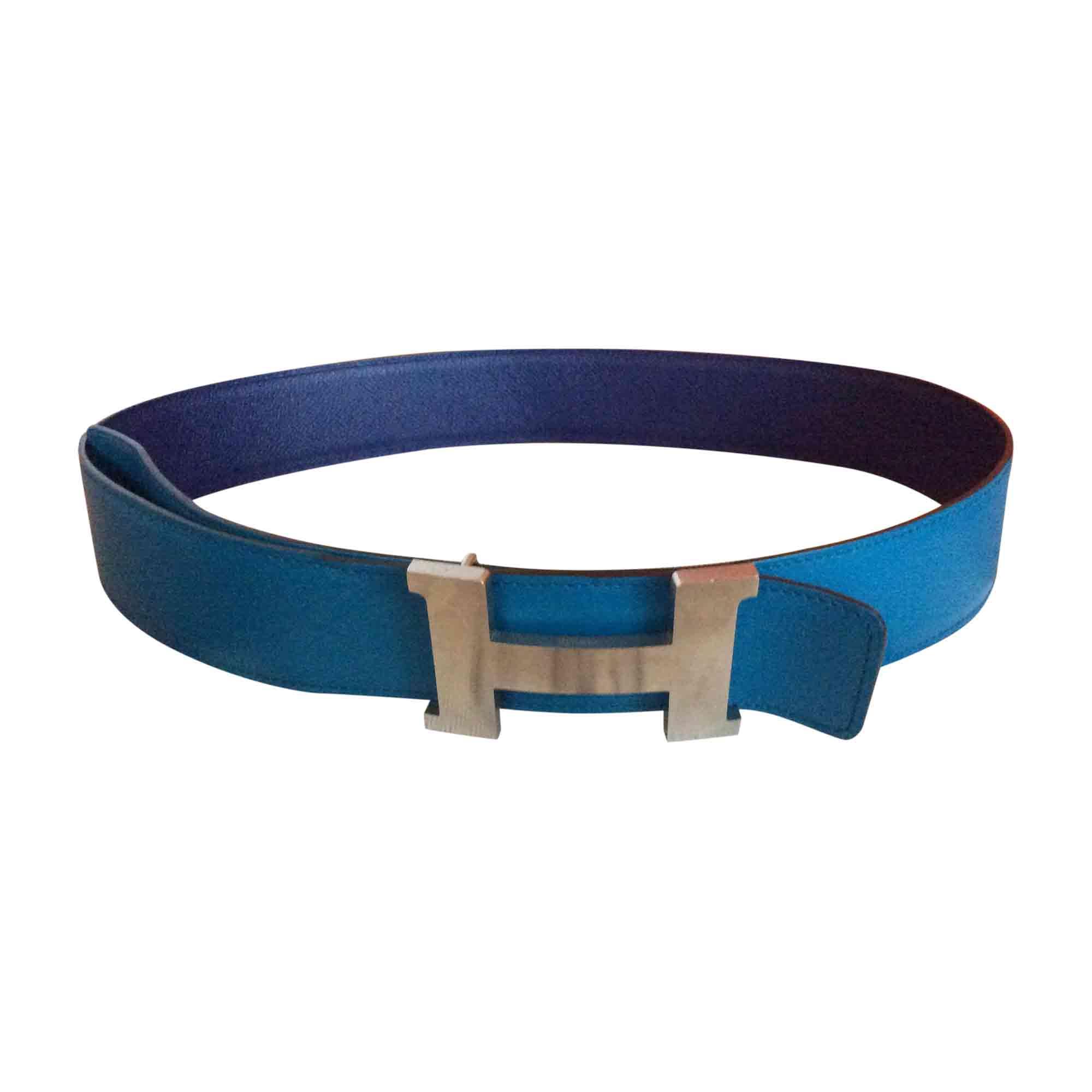 hermes cintura  Cintura HERMÈS 90 blu - 7171472