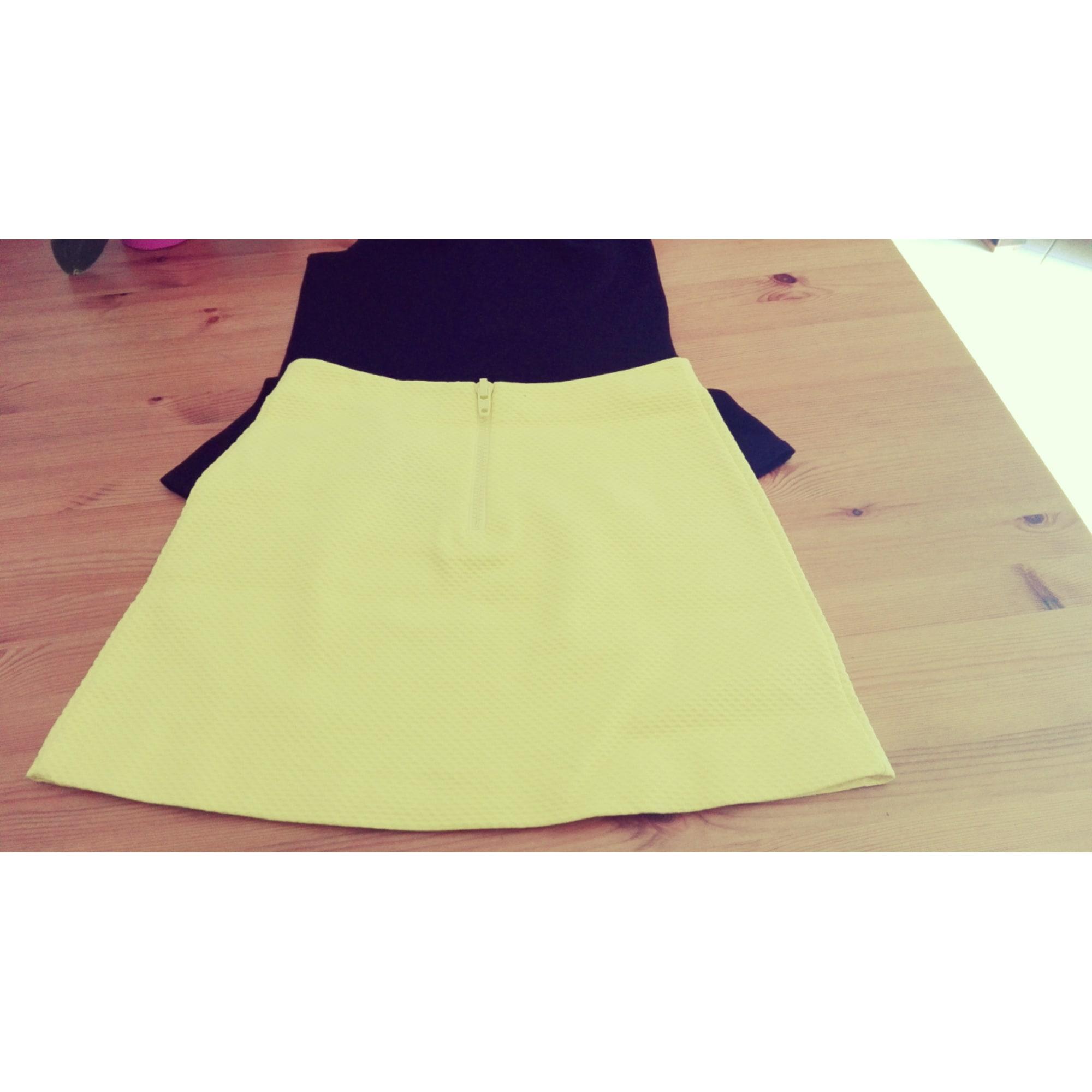 Jupe courte COP-COPINE 42 (L XL, T4) jaune - 7184202 c935f6fa578