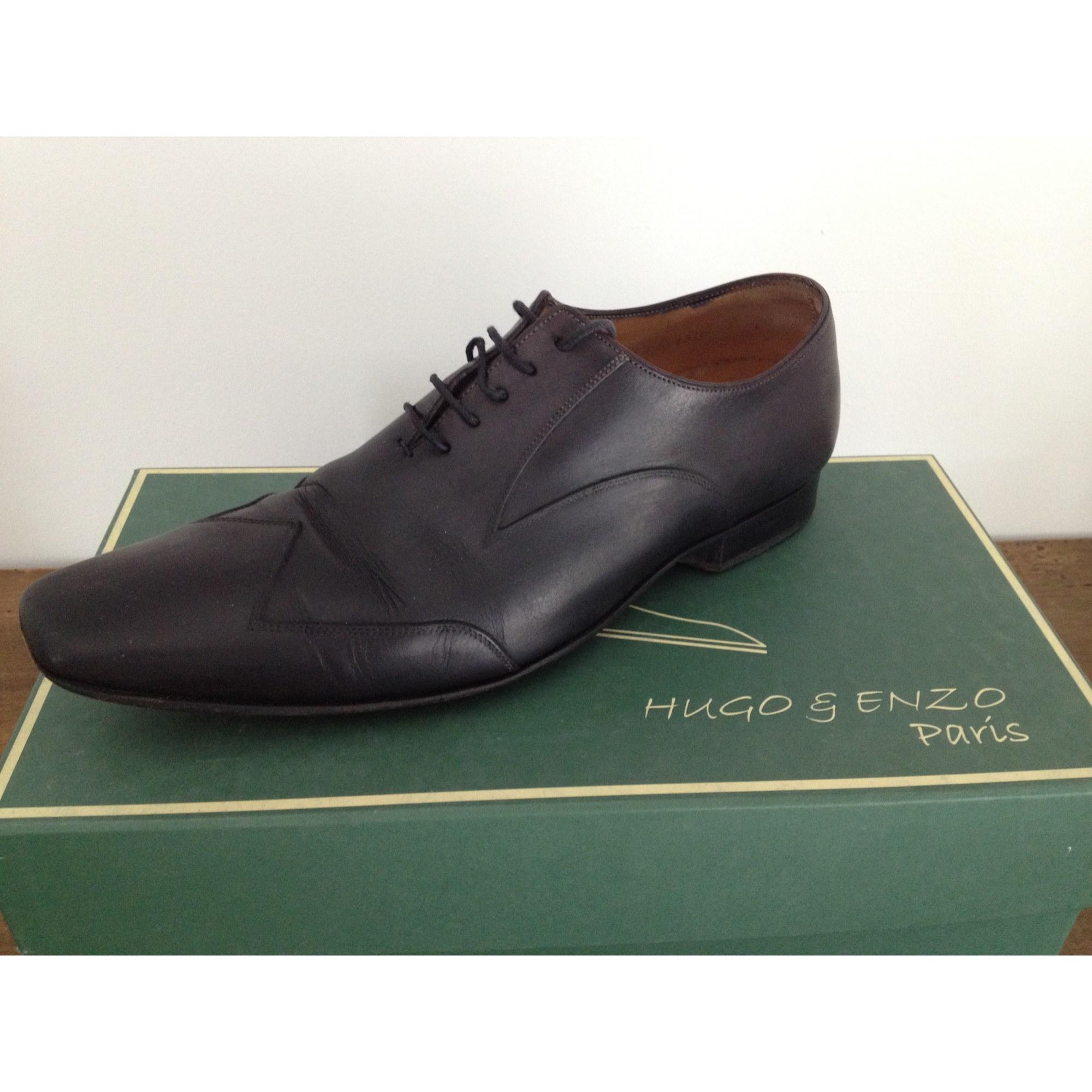 f695ad7e78b6 Chaussures à lacets HUGO ET ENZO 41 noir - 718642
