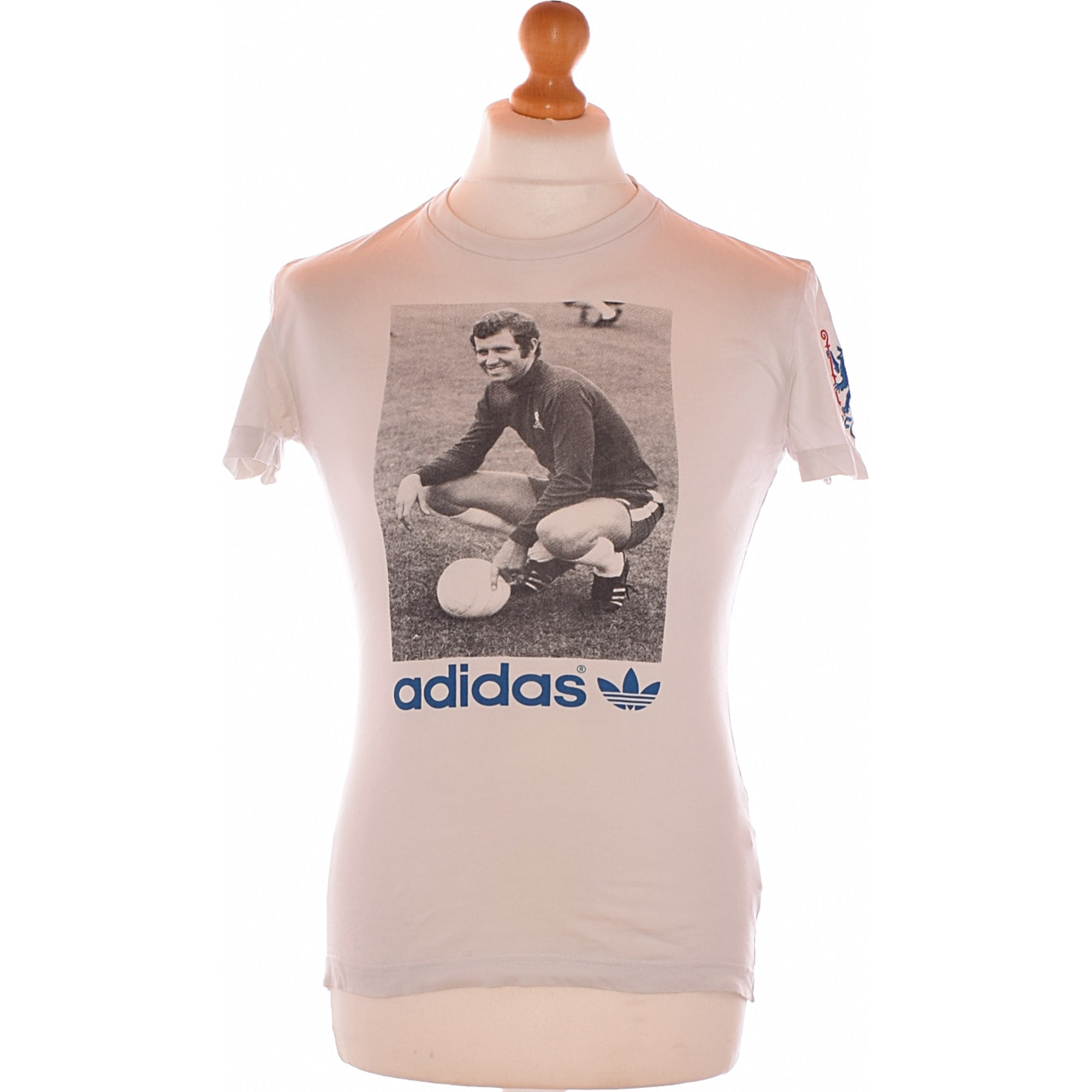 Tee Shirt Adidas Blanc 2