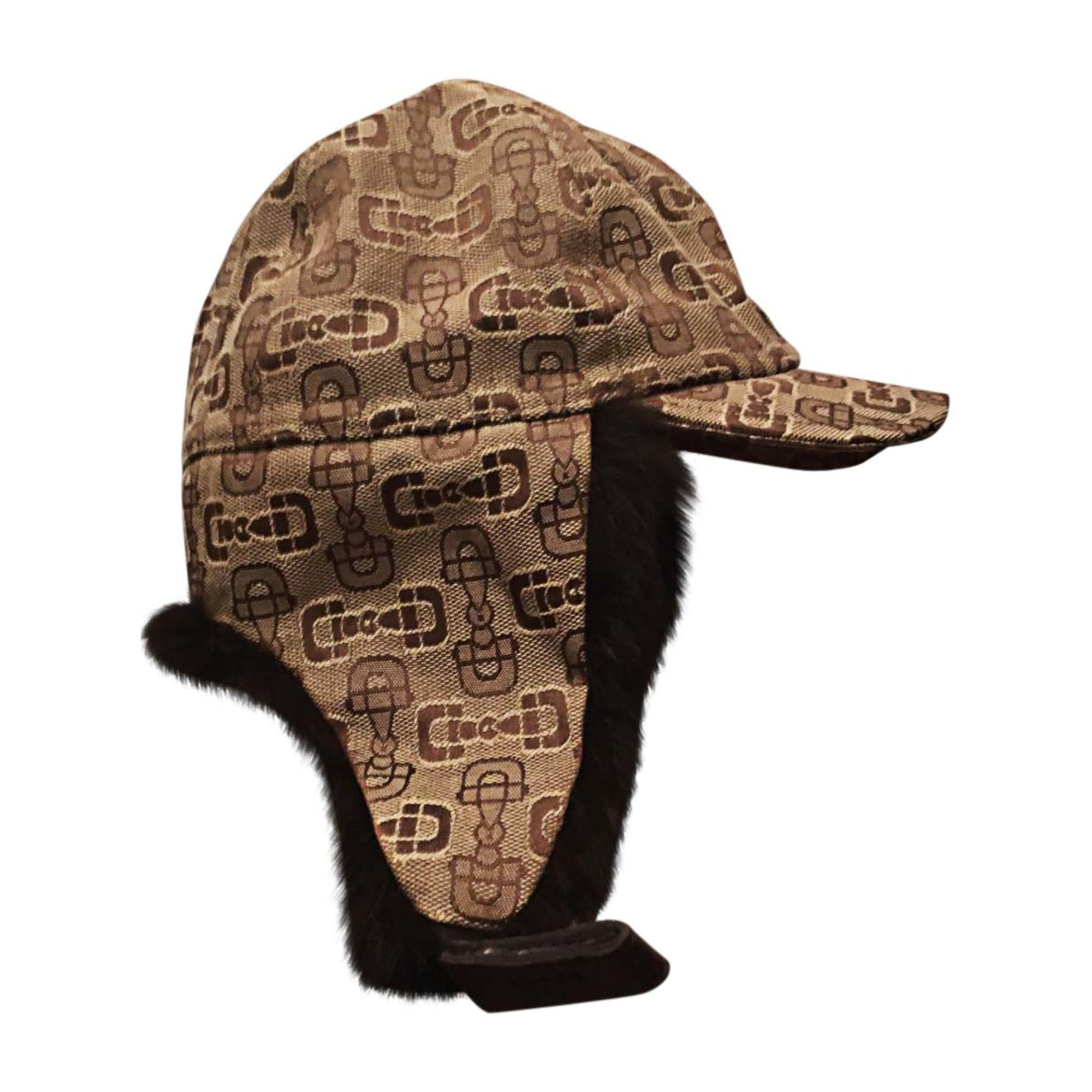 Cap GUCCI 55 brown - 7197525 9b9b31fd5d1
