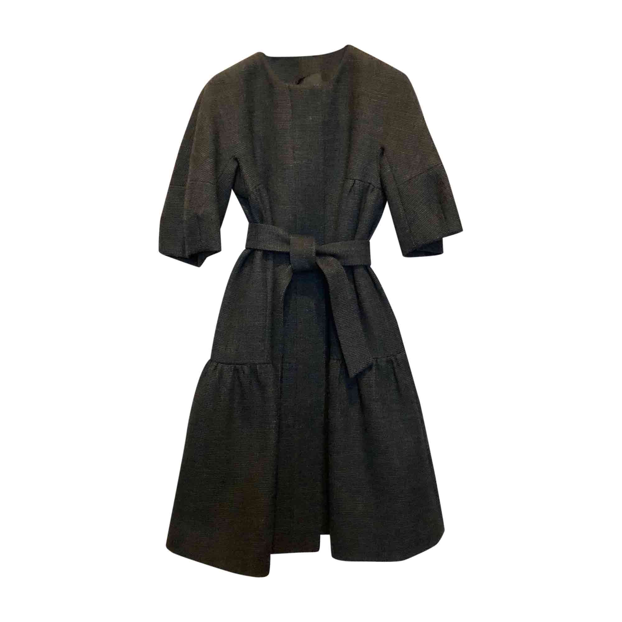 Manteau RED VALENTINO Gris, anthracite